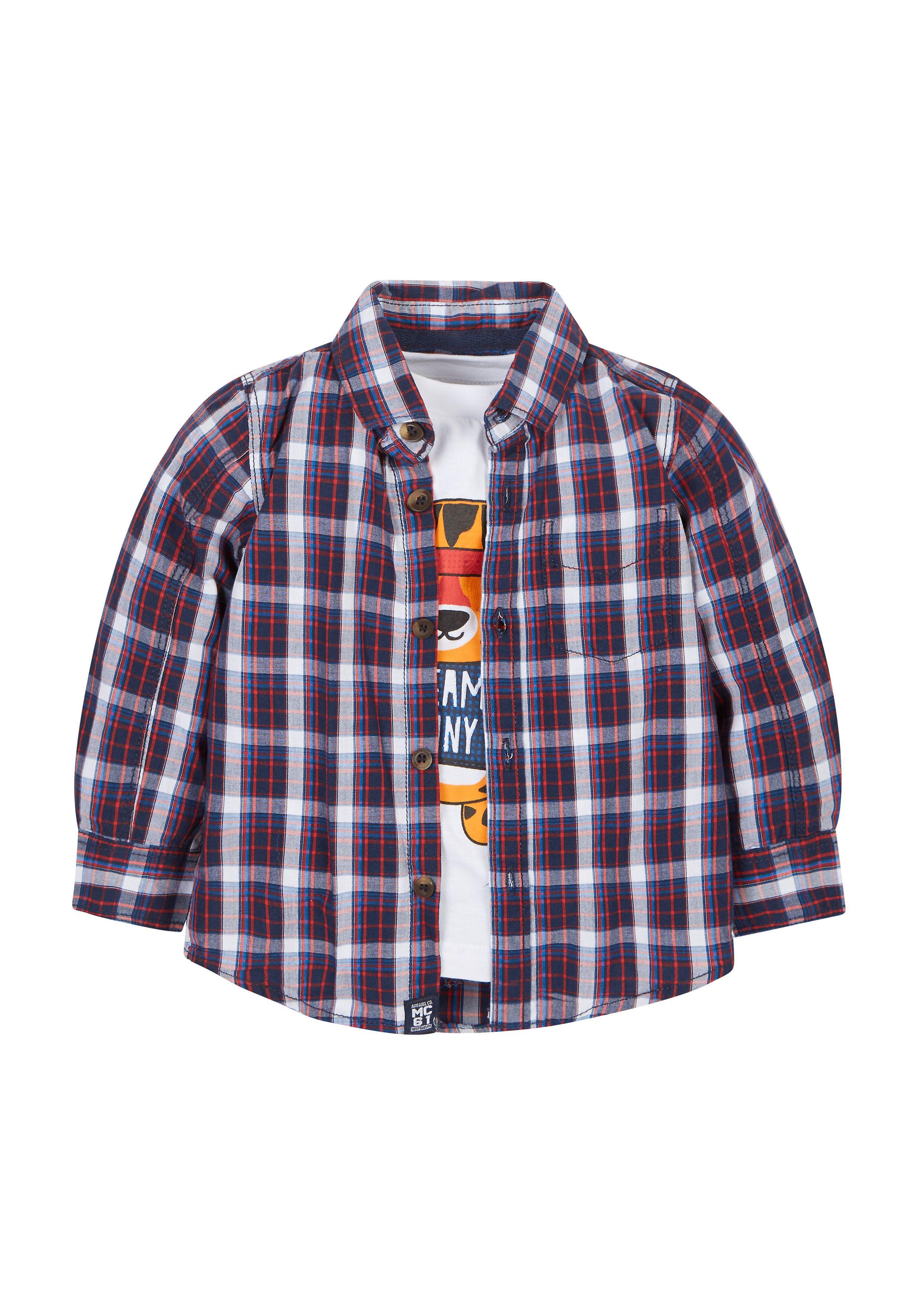 Mothercare   Tiger T-Shirt And Shirt Set