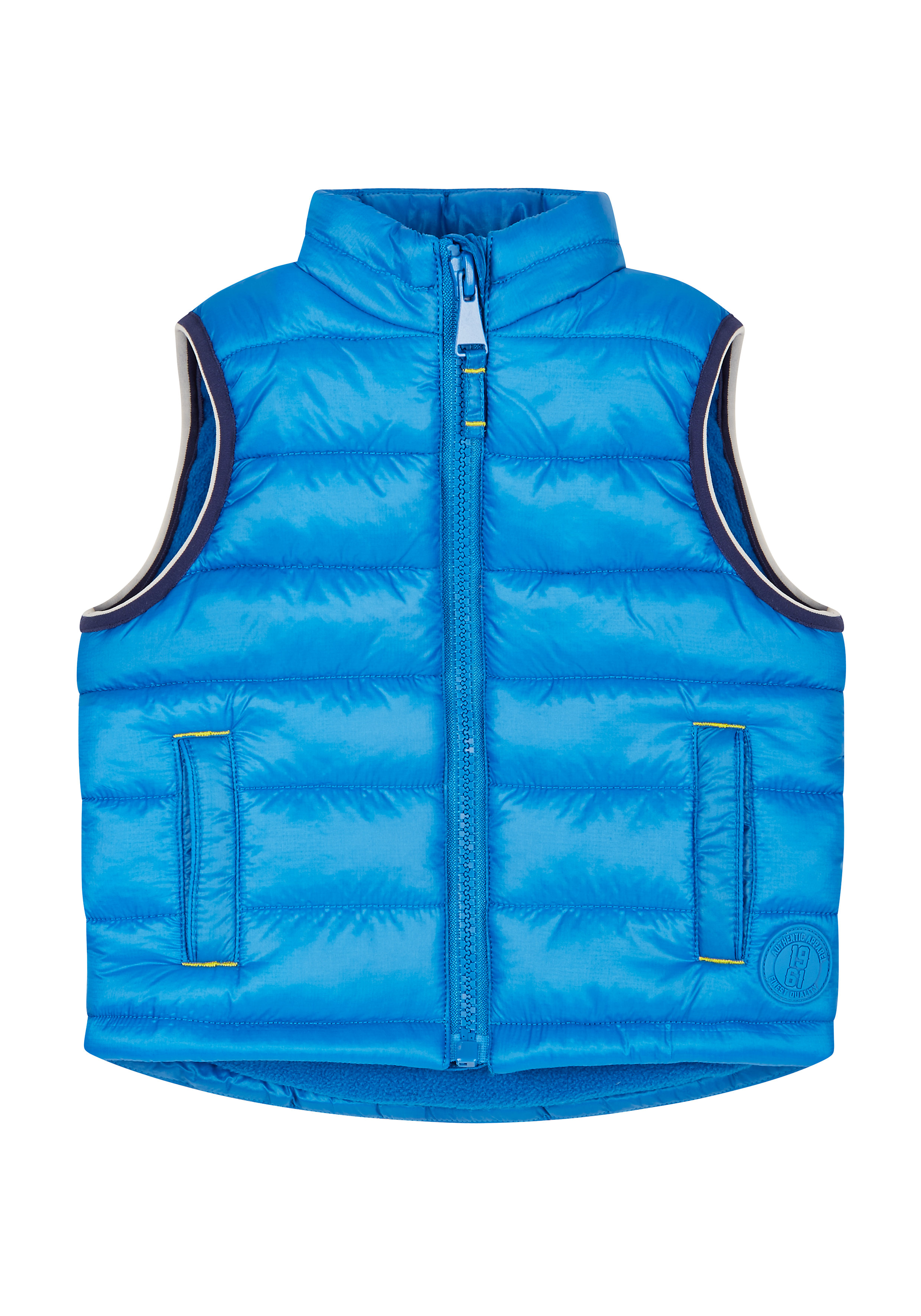 Mothercare | Boys Sleeveless Quilted Jacket - Blue