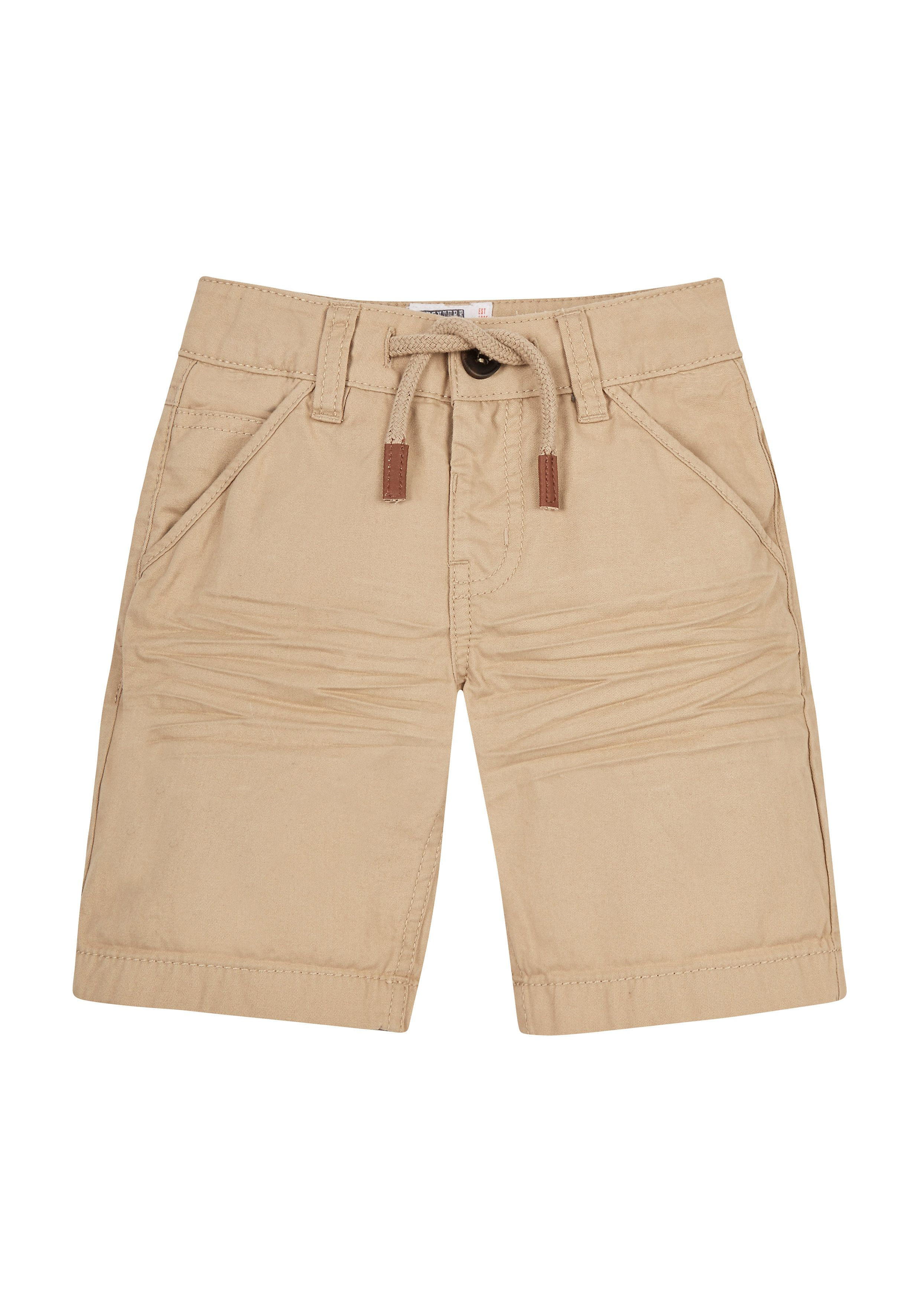 Mothercare   Tan Brushed Twill Shorts