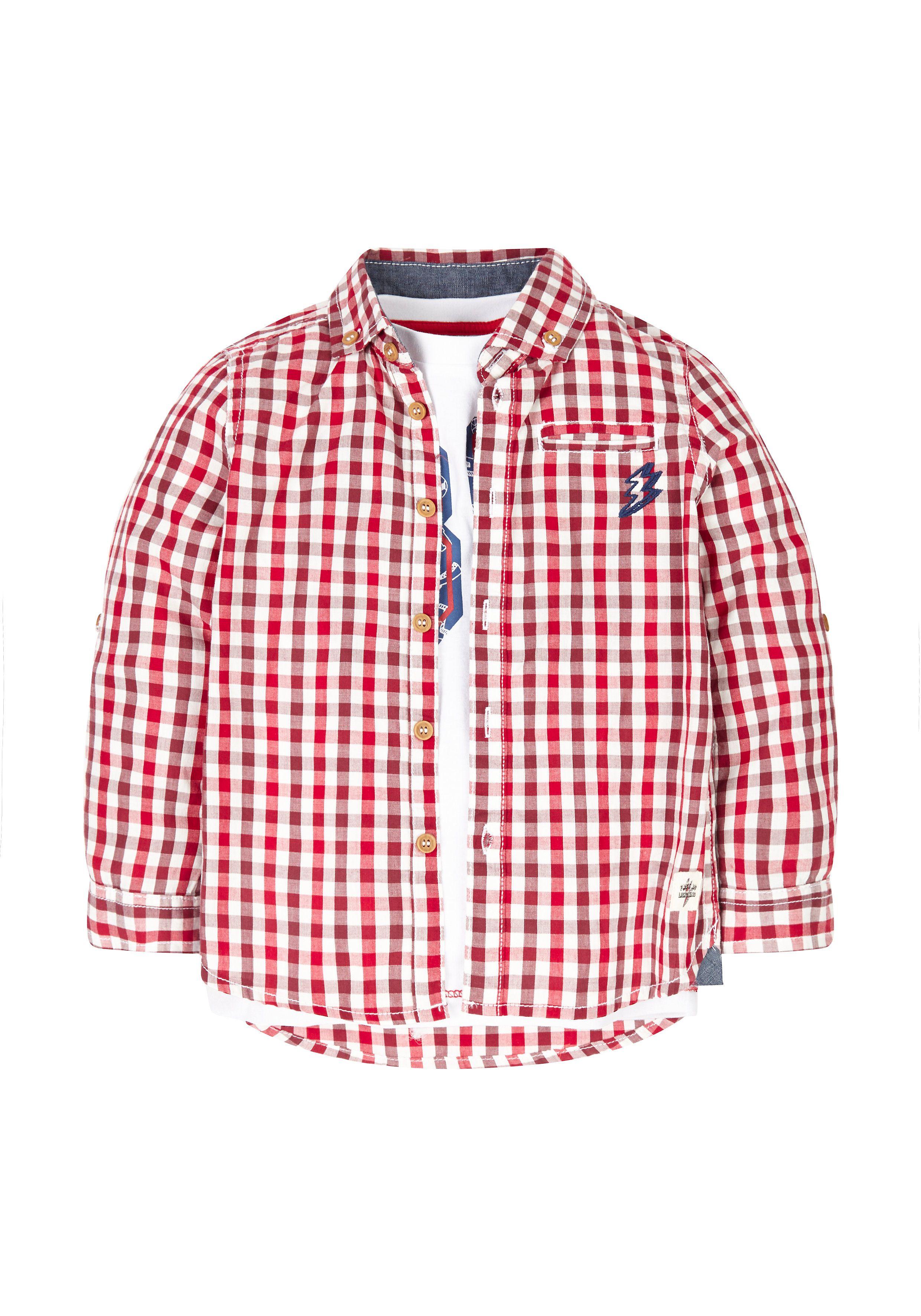 Mothercare   Check Shirt And T-Shirt Set