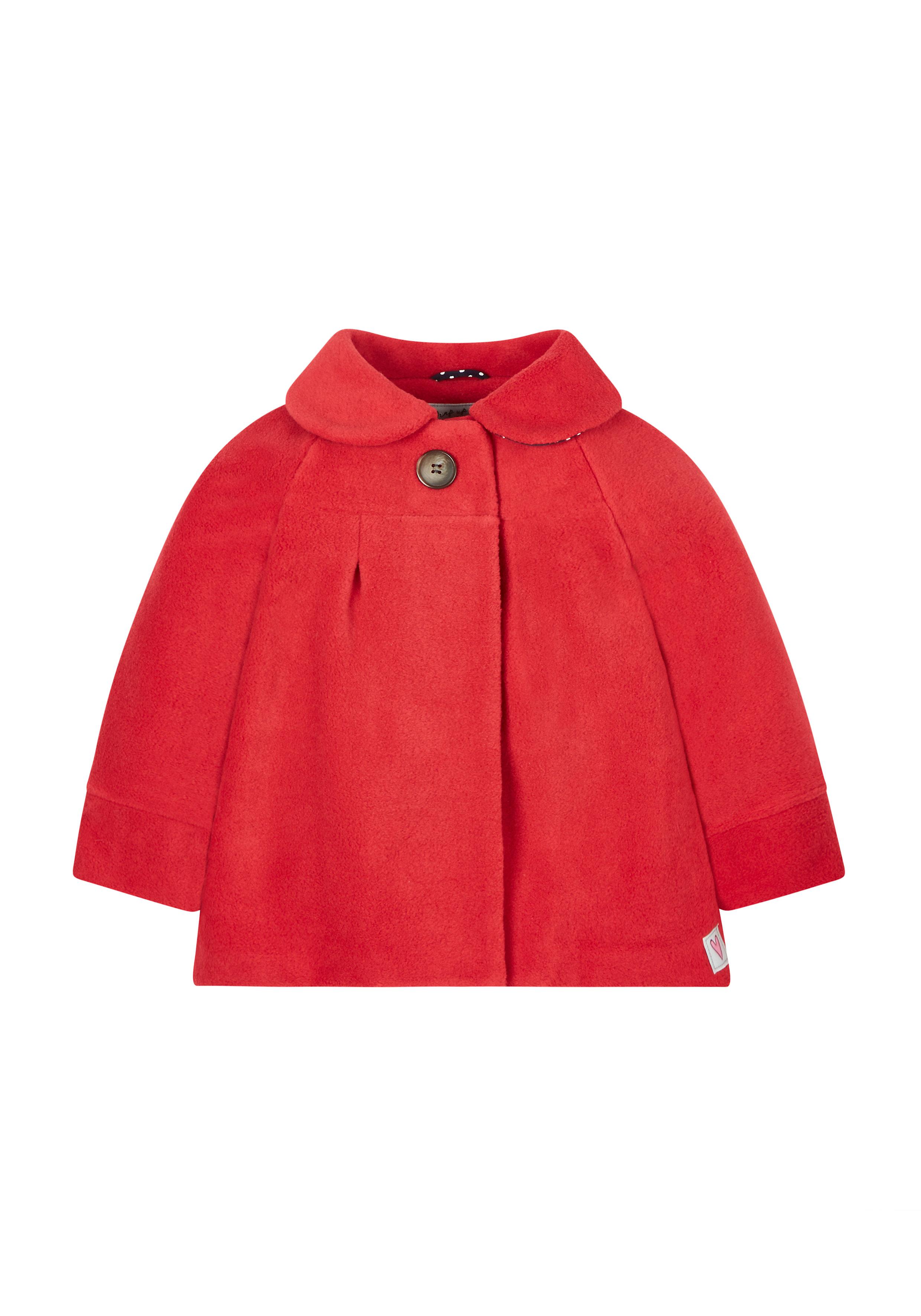 Mothercare | Girls Full Sleeves Coat - Red