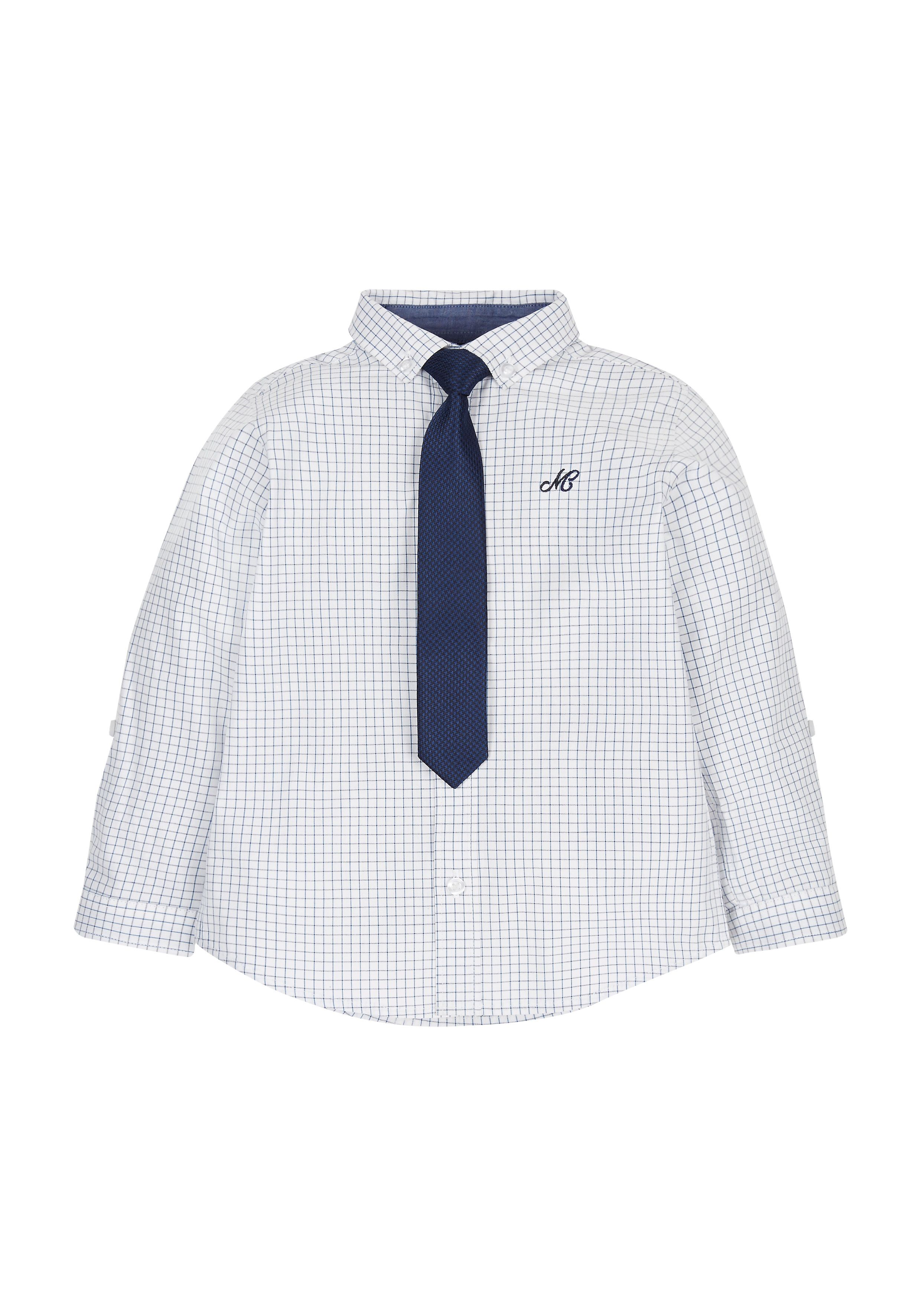 Mothercare | Checked Shirt And Tie Set