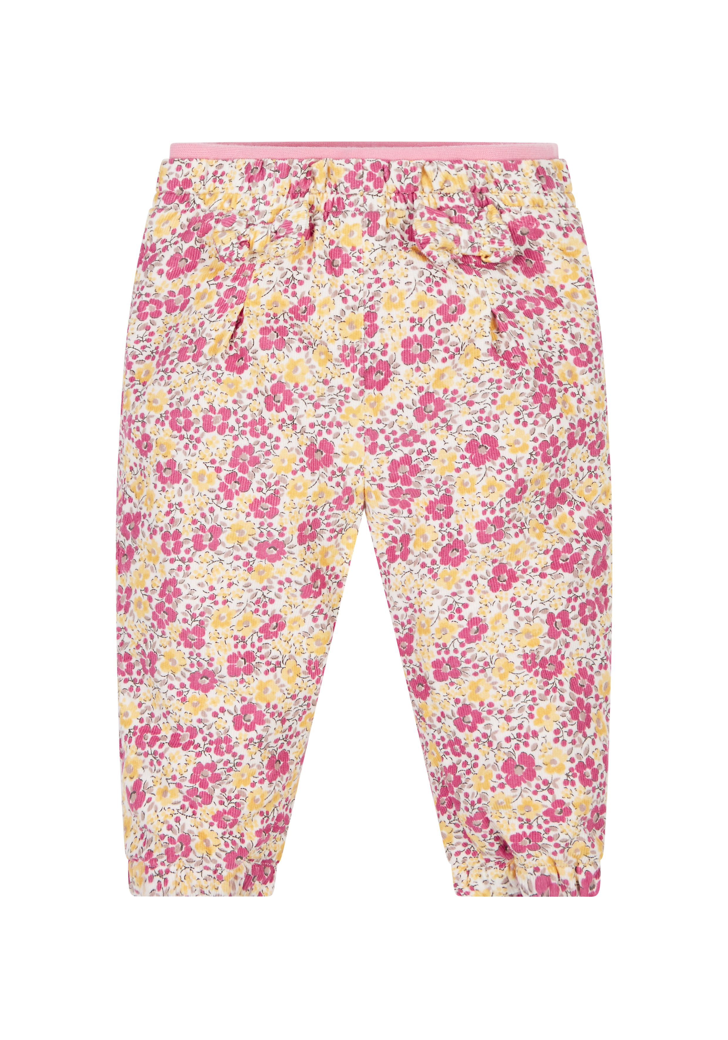 Mothercare   Floral Jersey Lined Jeans