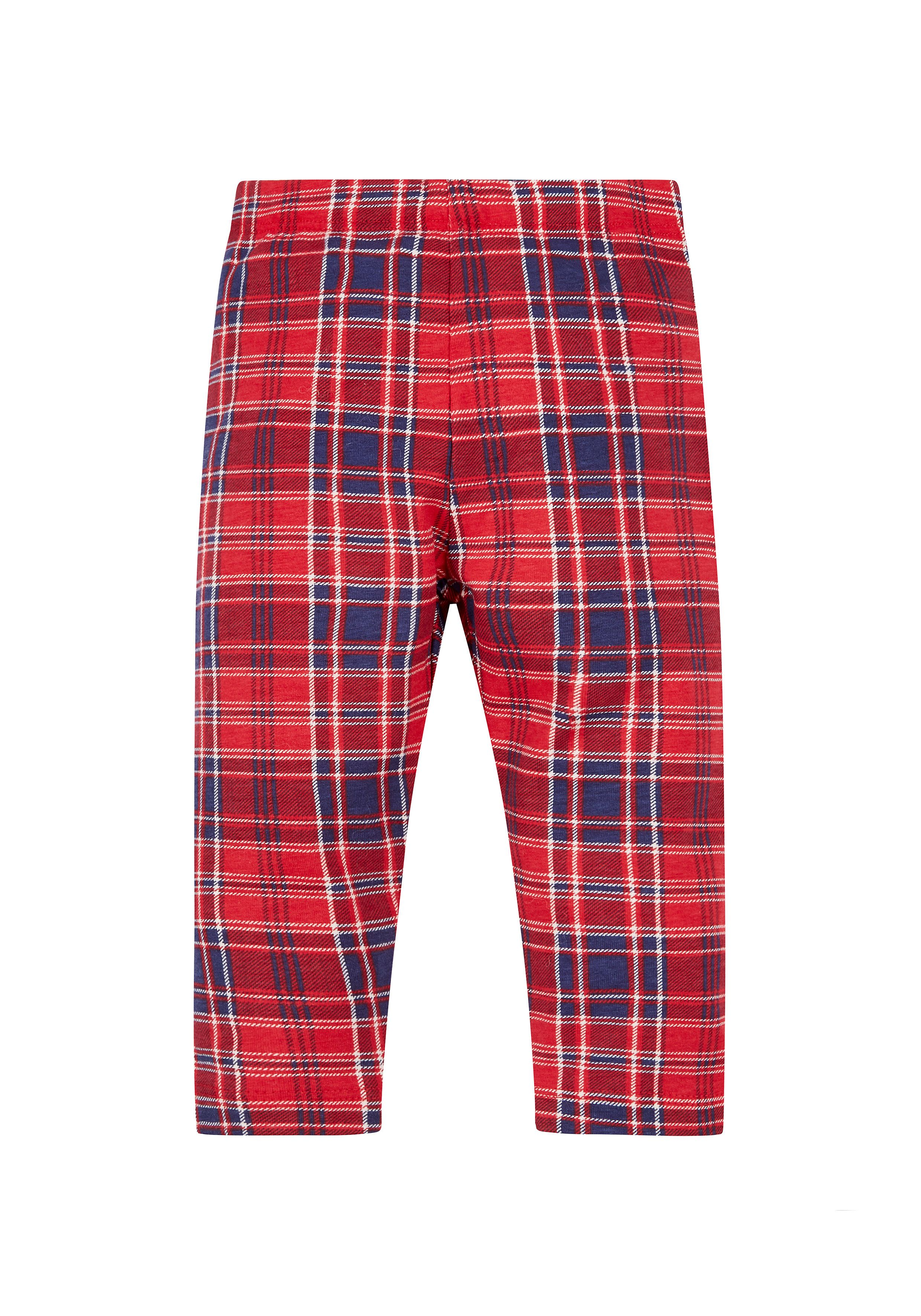 Mothercare | Red Check Leggings