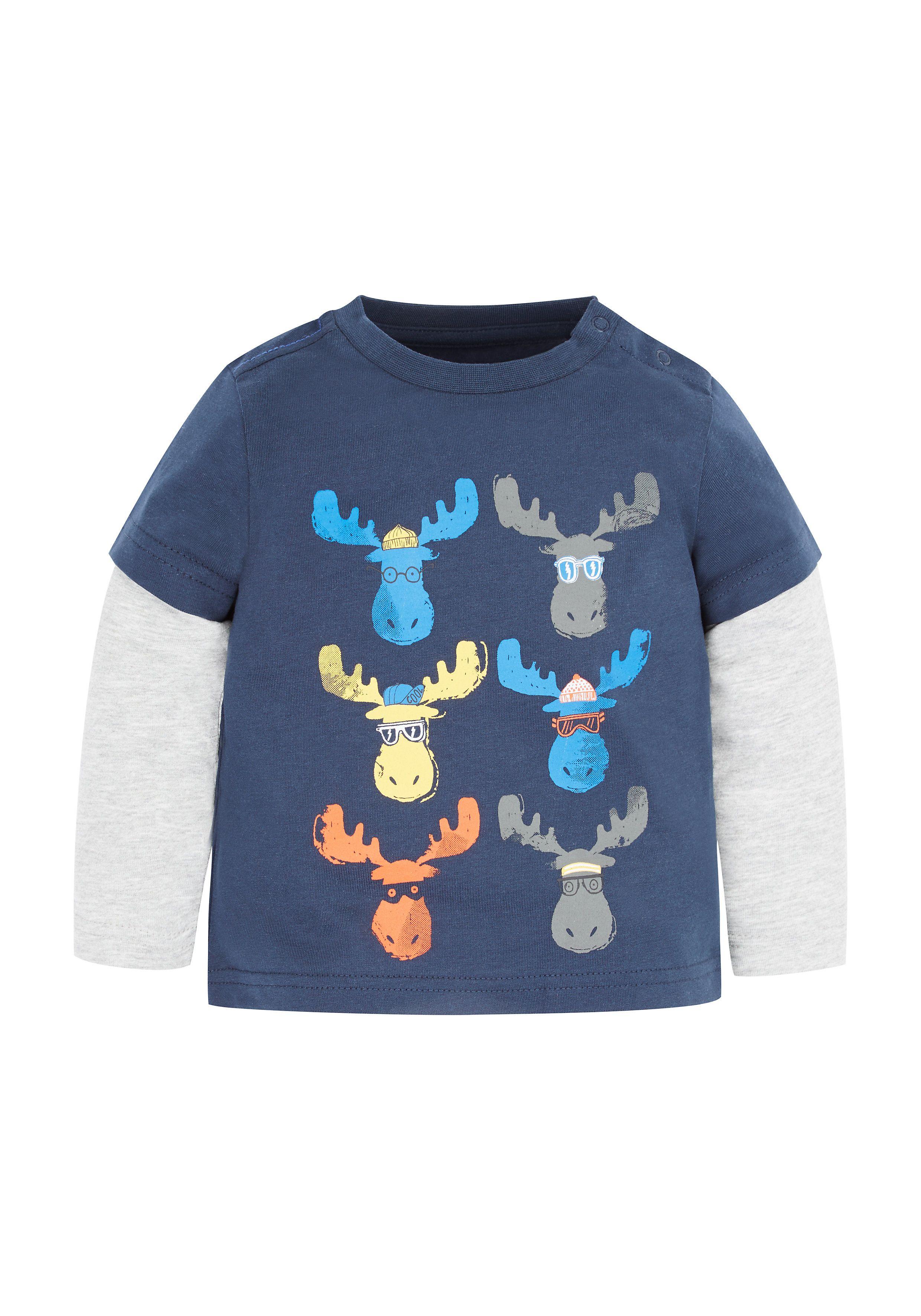 Mothercare   Mock Moose T-Shirt
