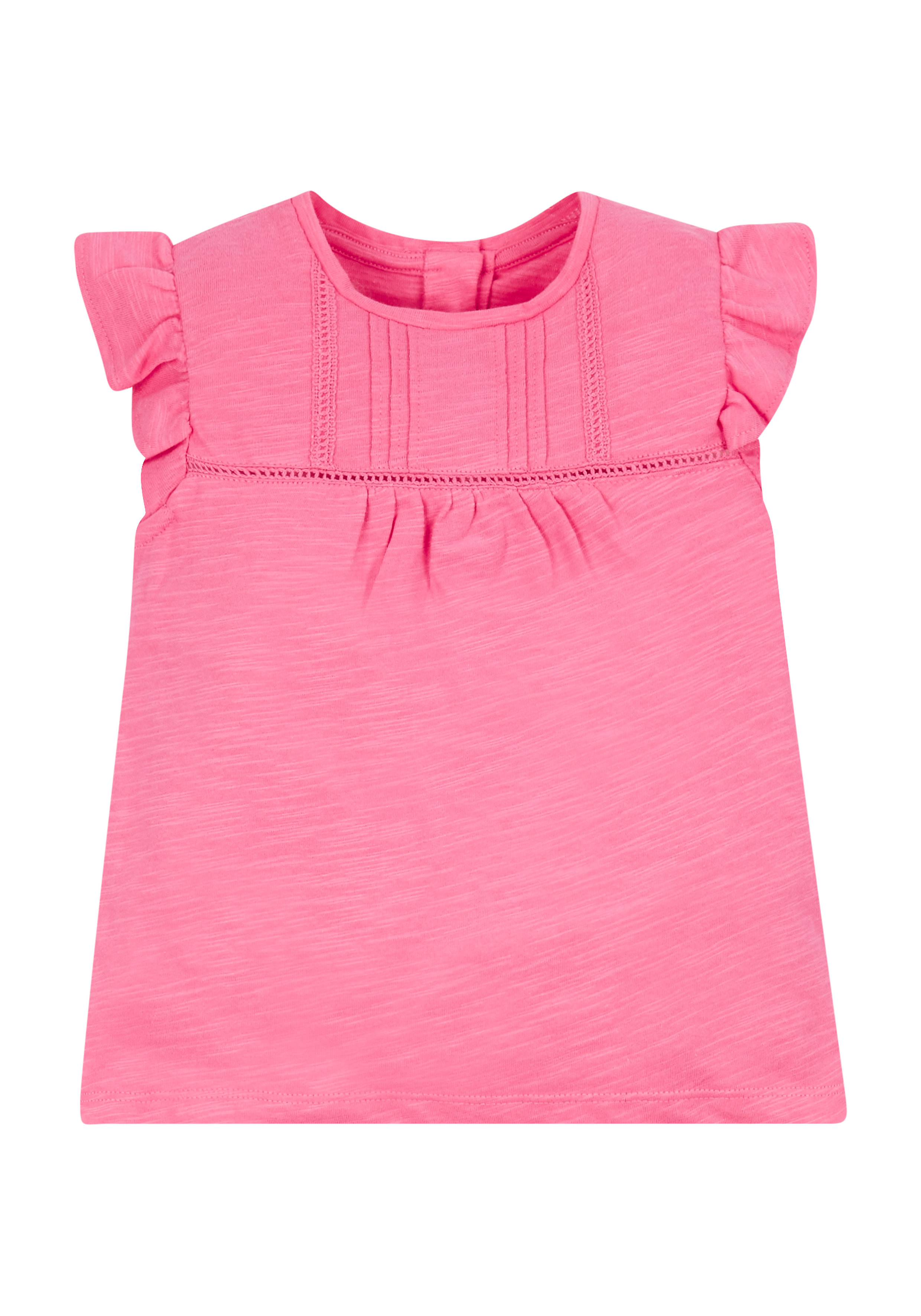 Mothercare | Pink Frilly T-Shirt