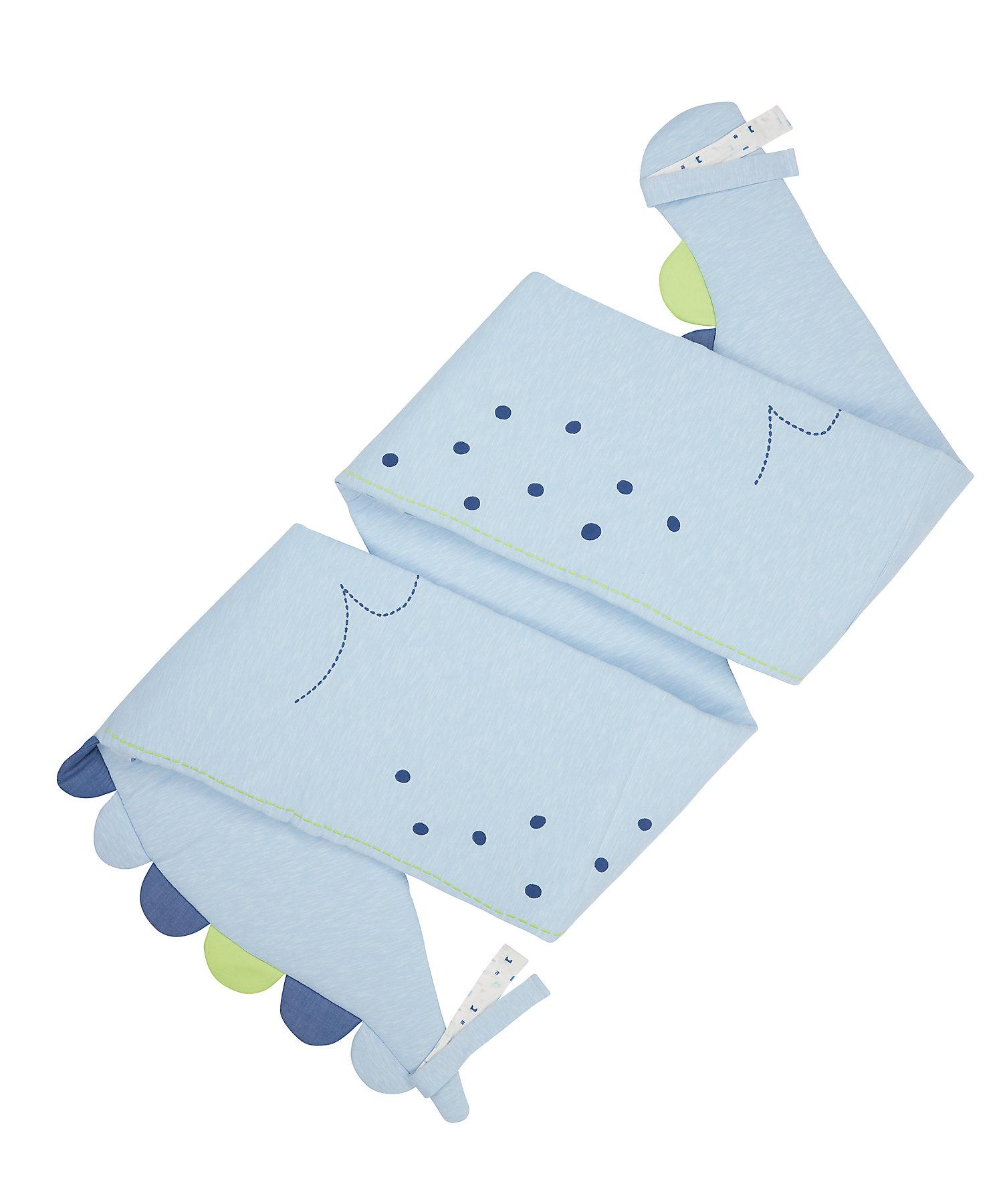 Mothercare | Mothercare Sleepysaurus Long Bumper  Baby Bedding Sets Blue