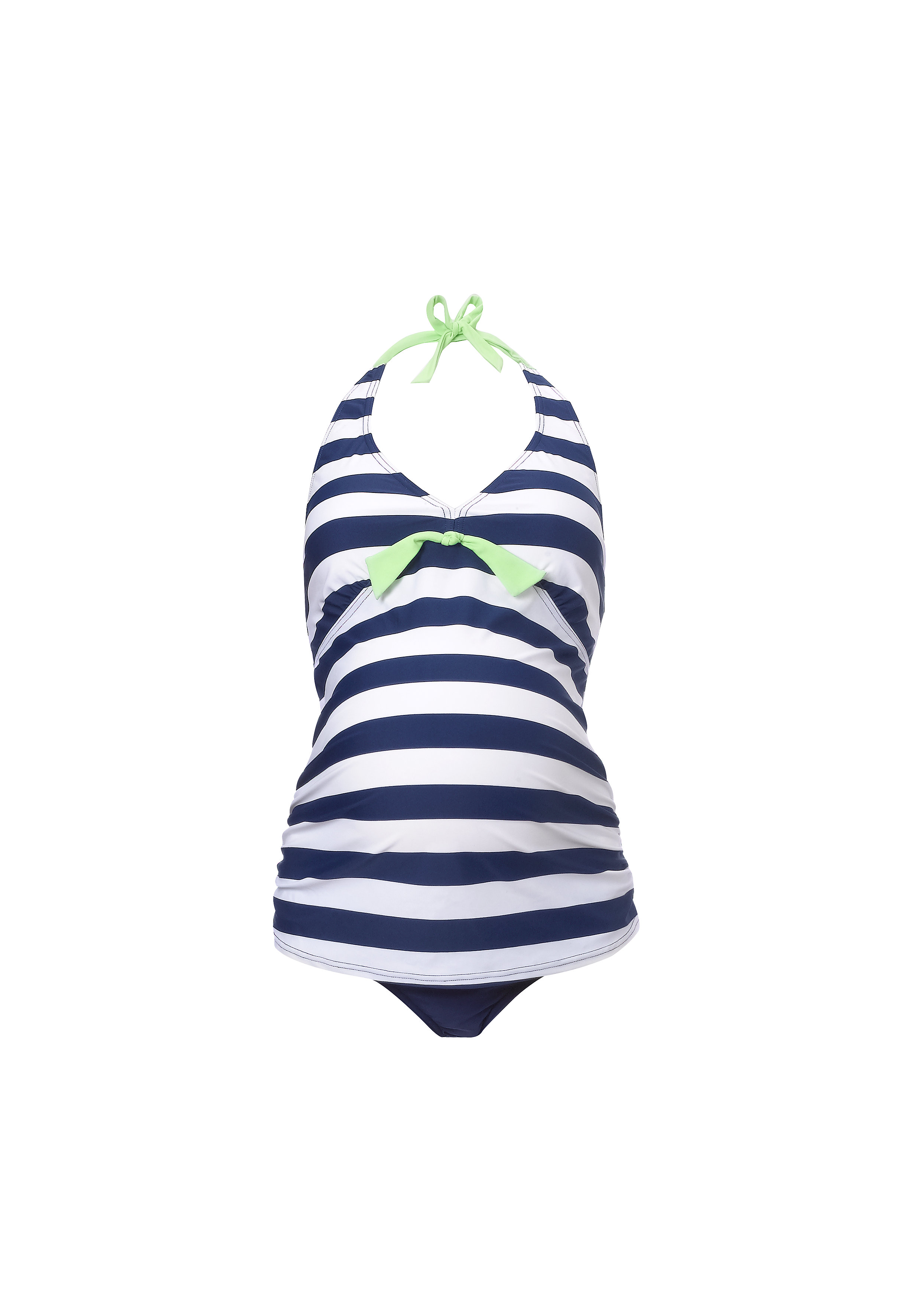 Mothercare | Women Sleeveless Maternity Swimsuit Striped - Multicolor