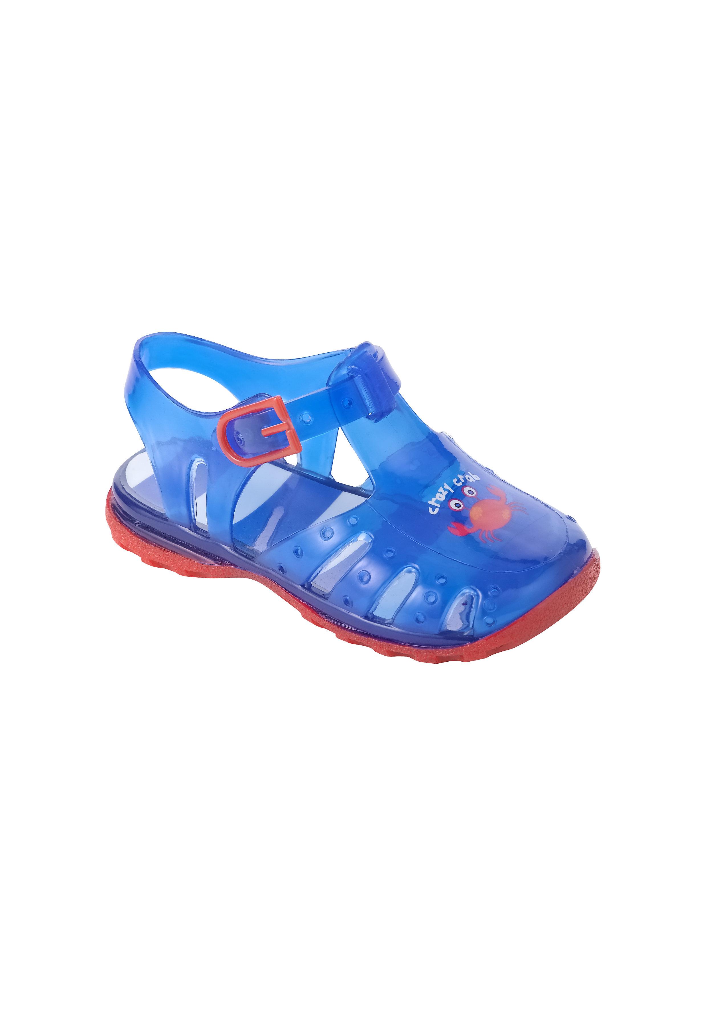 Mothercare | Boys Sandals Crab Print - Blue
