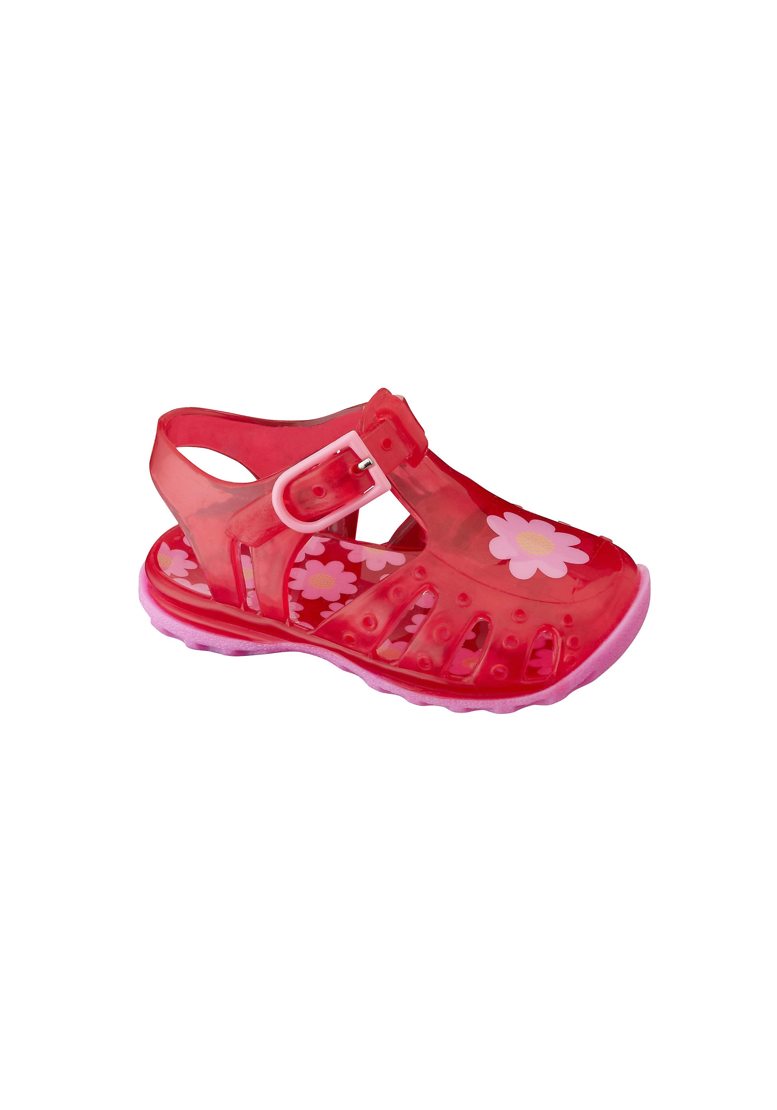 Mothercare | Girls Sandals Flower Design - Red