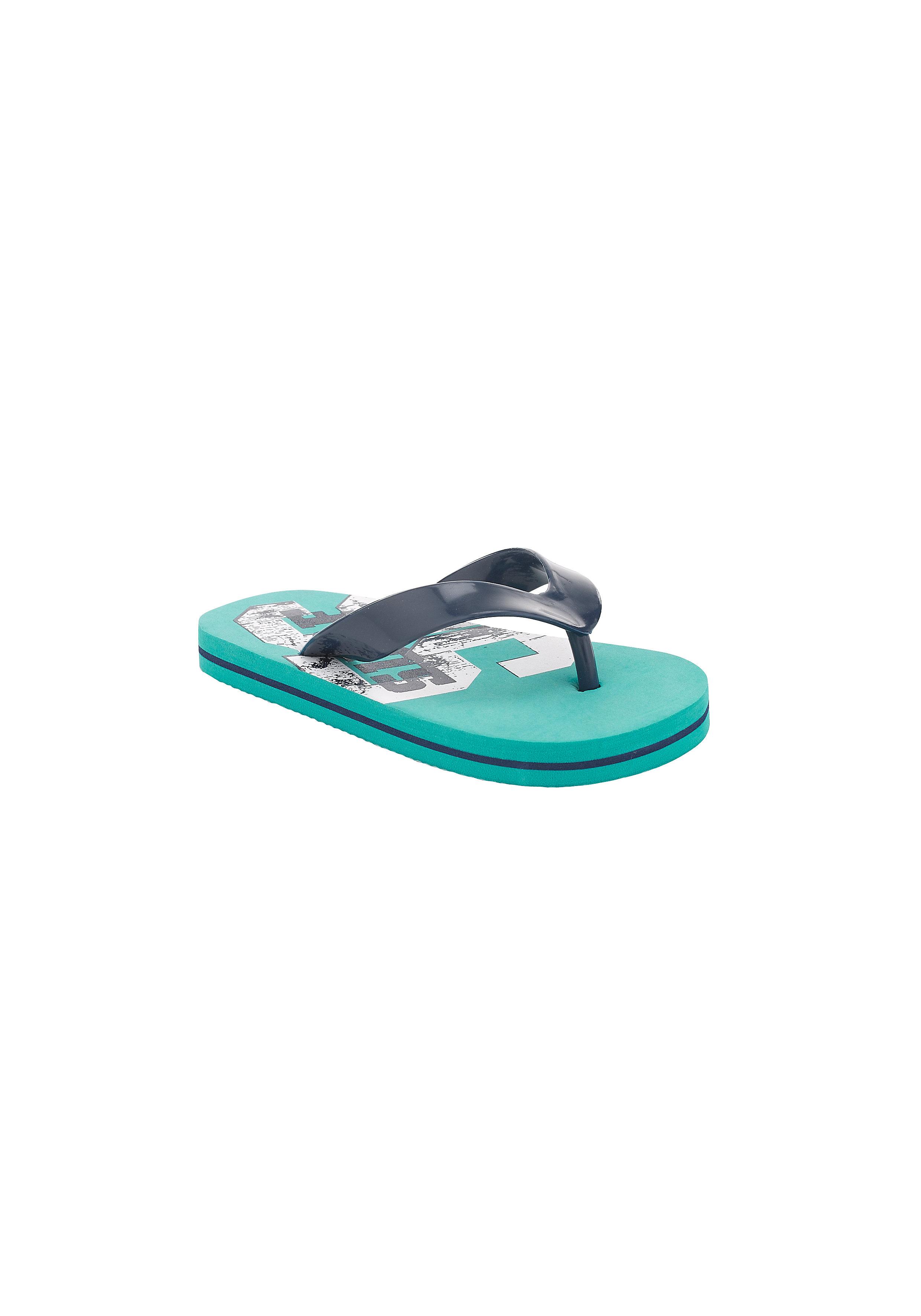 Mothercare | Boys Flip Flops Printed - Blue