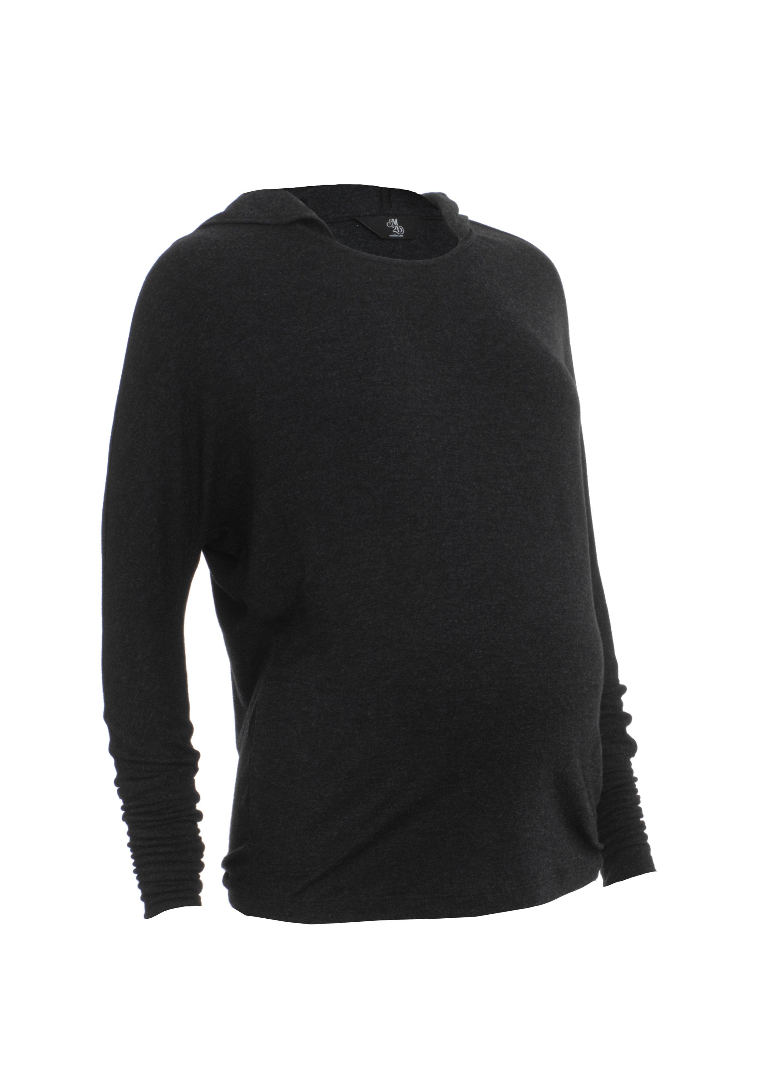 Mothercare | Women Full Sleeves Maternity Sweatshirt With Hood - Grey