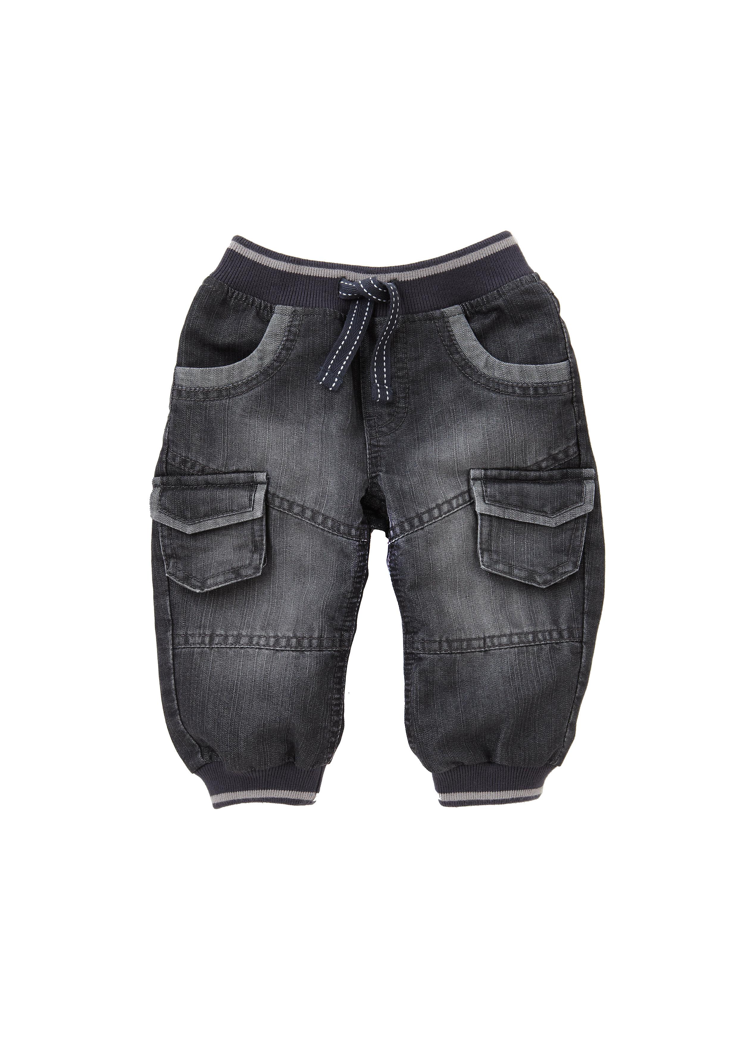 Mothercare | Boys Jeans Rib Waist - Grey