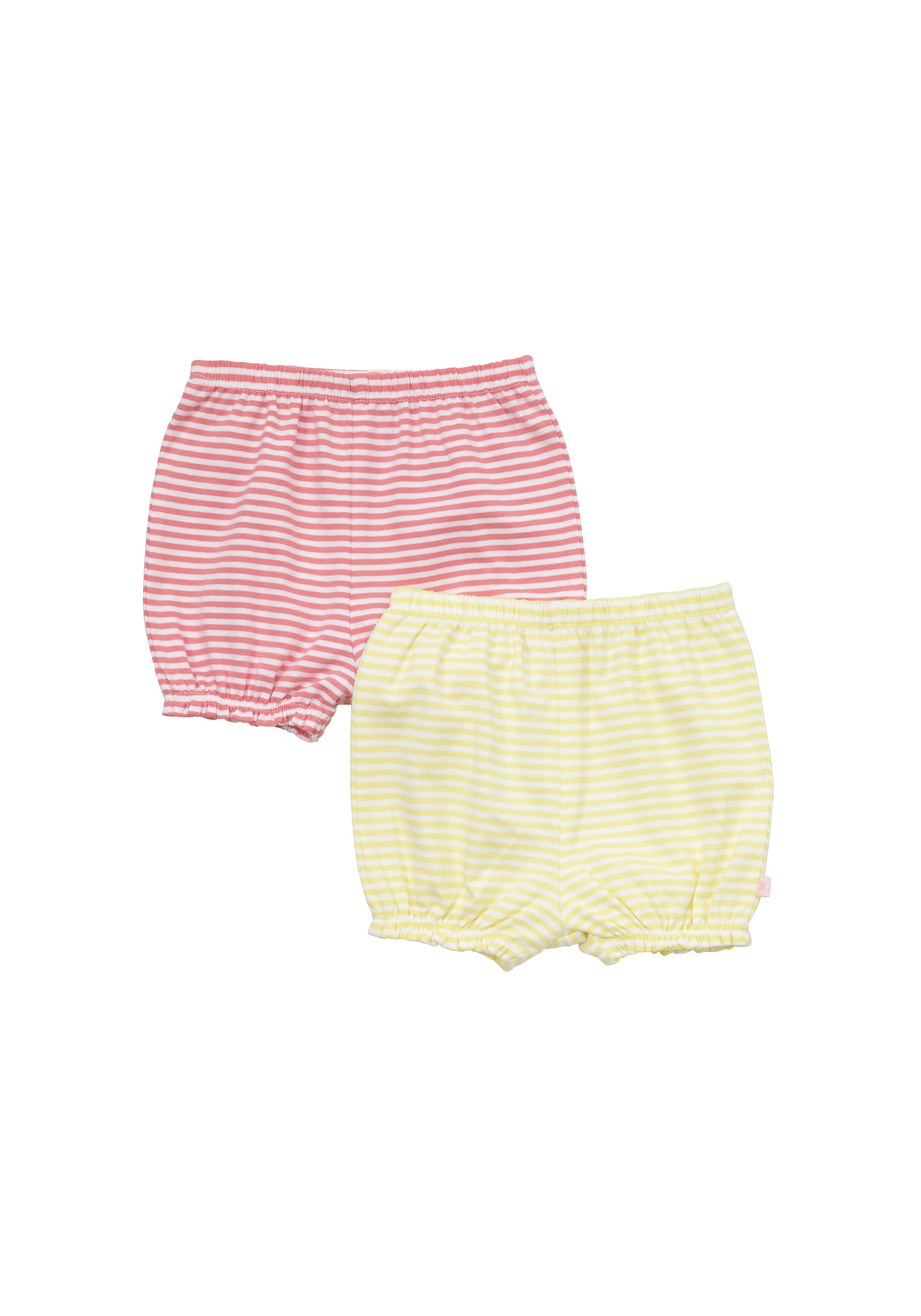 Mothercare   Girls Shorts Striped - Pack Of 2 - Multicolor