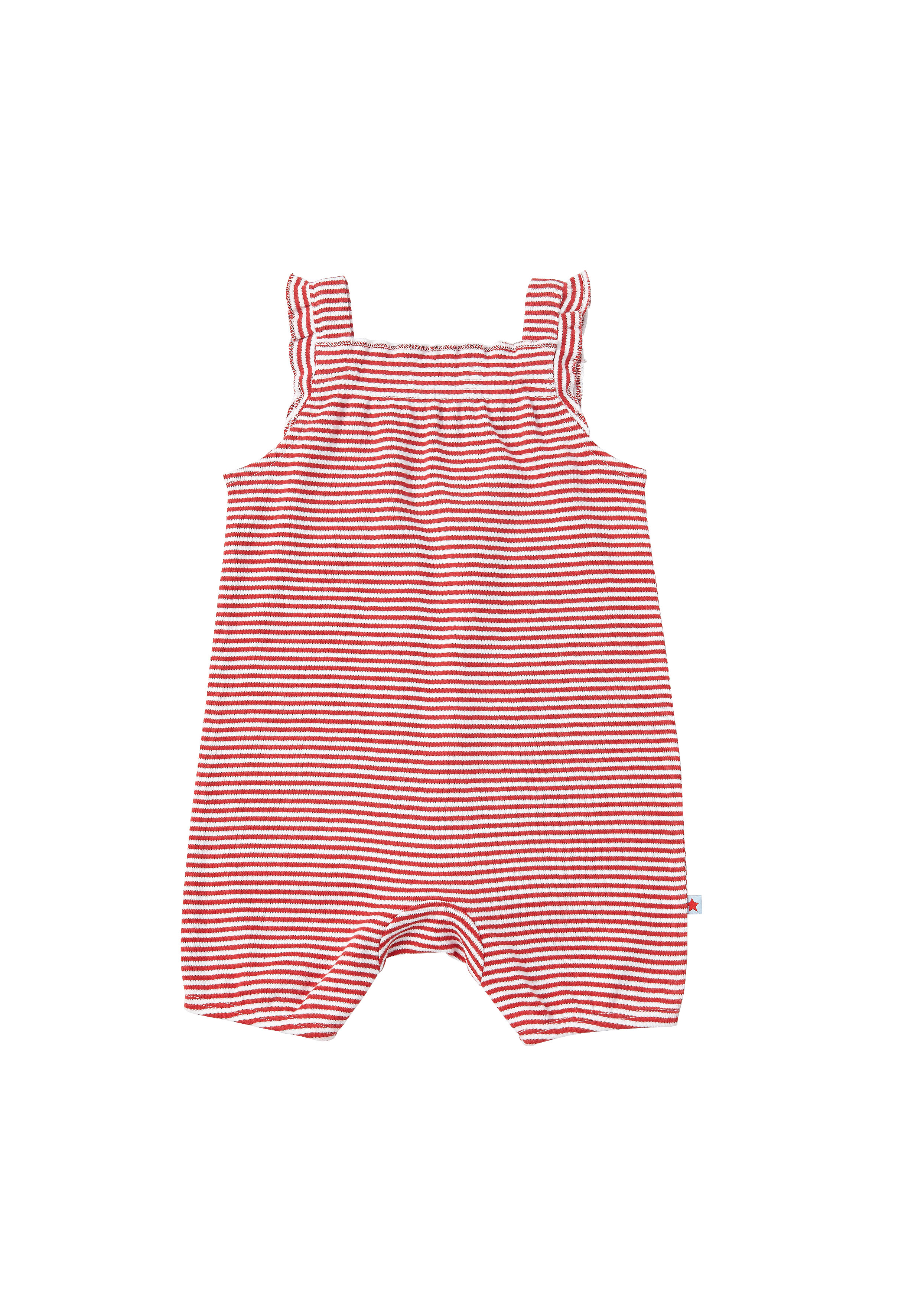 Mothercare | Girls Stripe Romper - Red