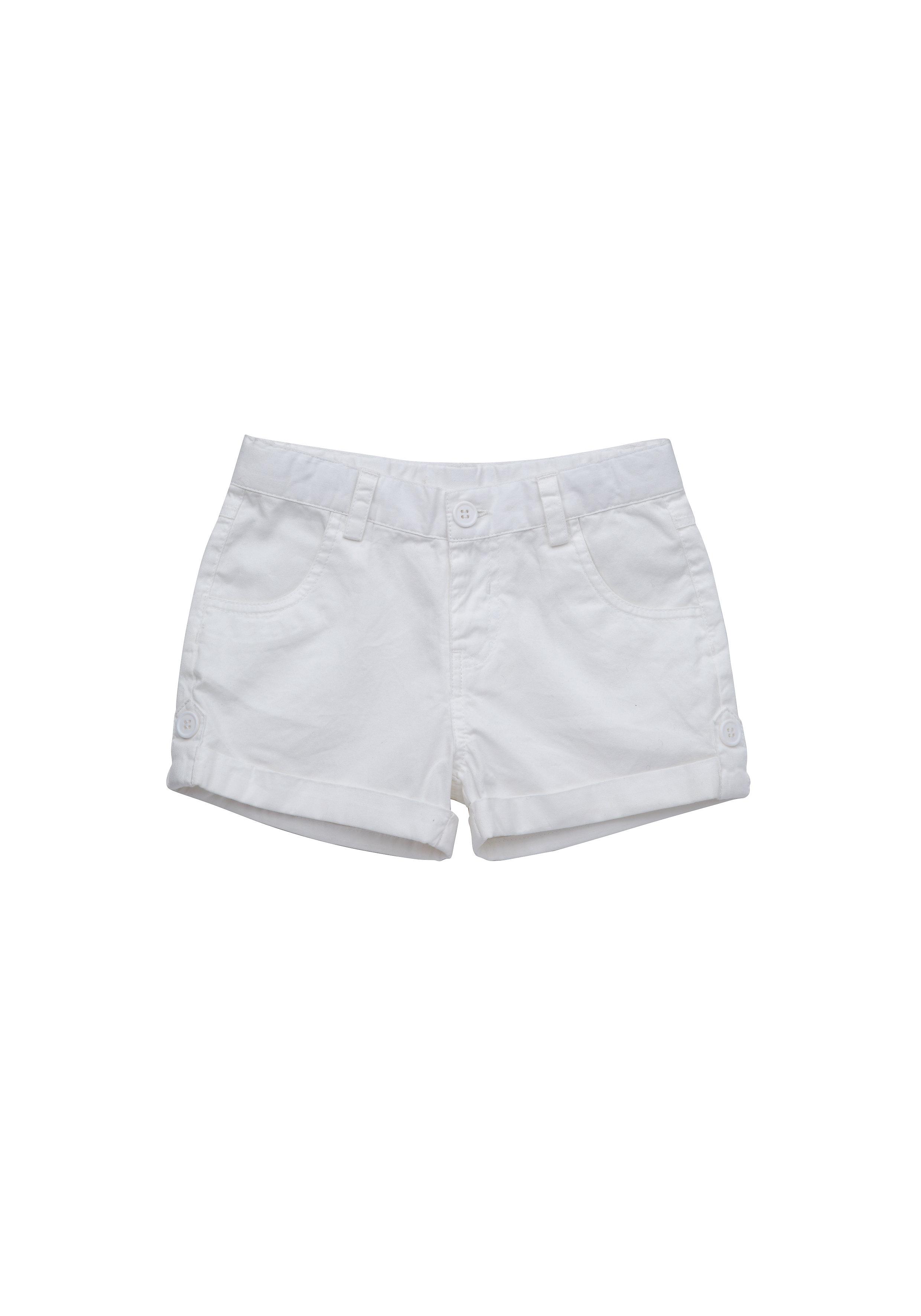 Mothercare | Girls Shorts - White