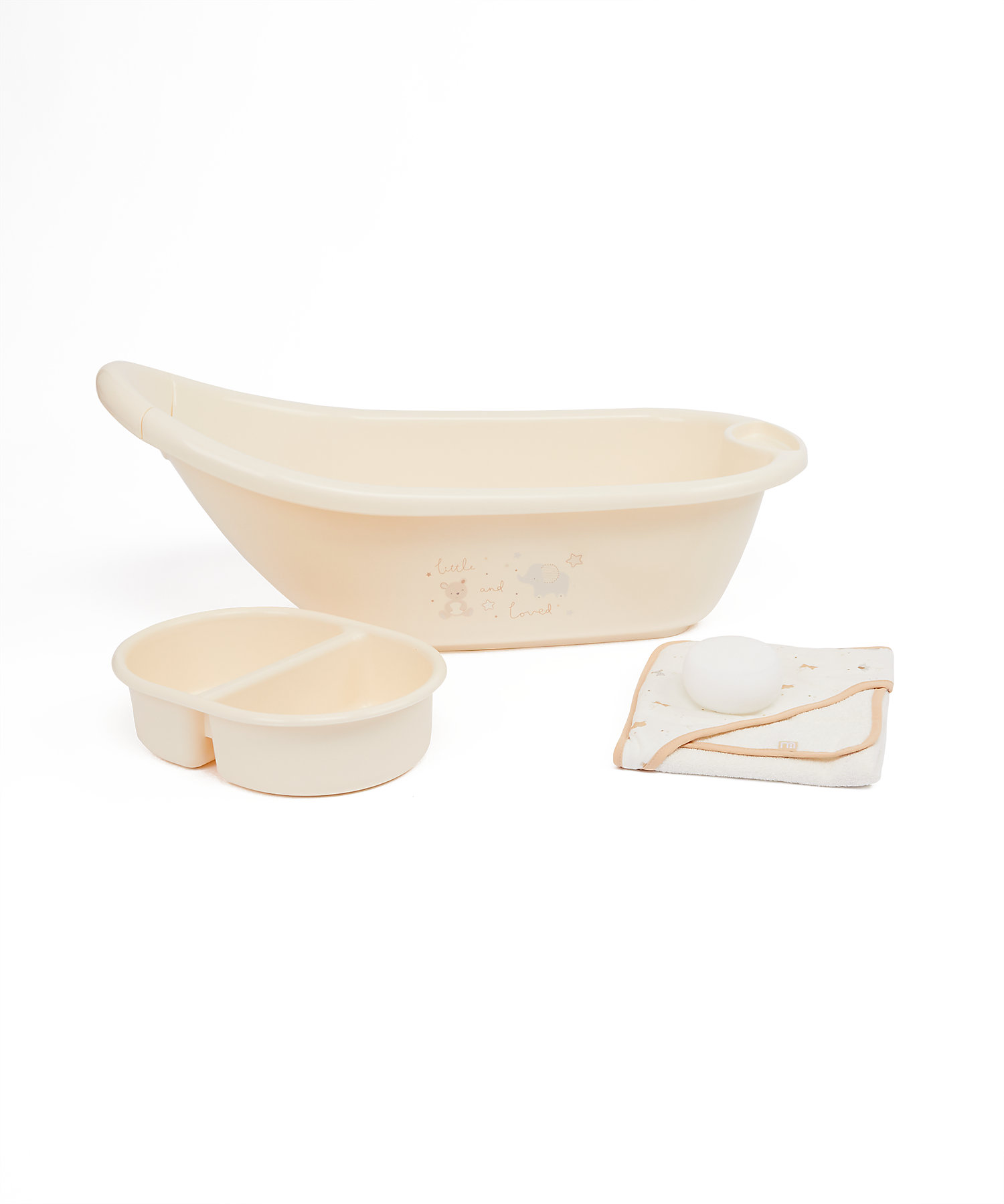 Mothercare | Mothercare Little And Loved Bath Stands & Box Cream
