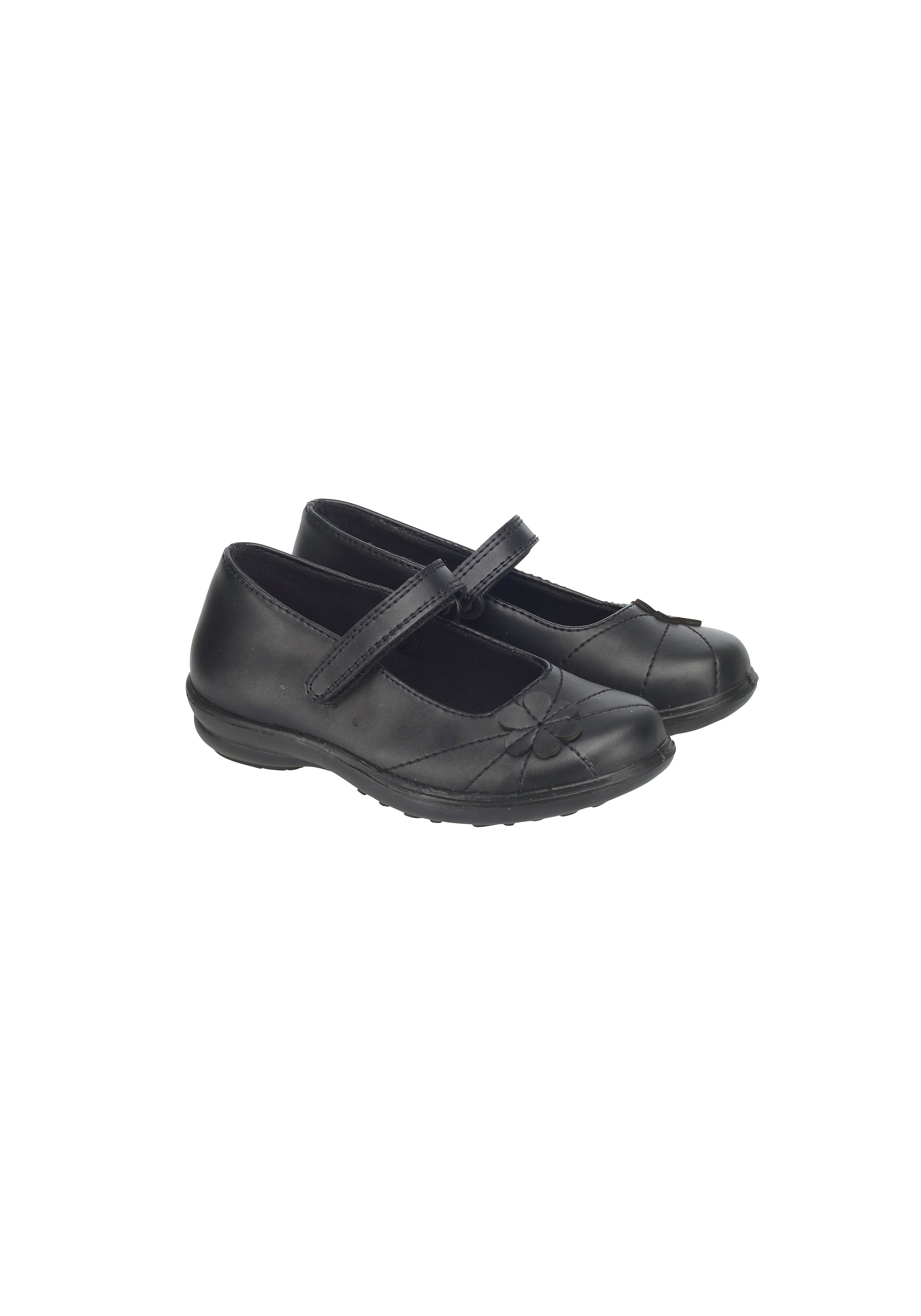 Mothercare | Girls Back To School Shoes - Black