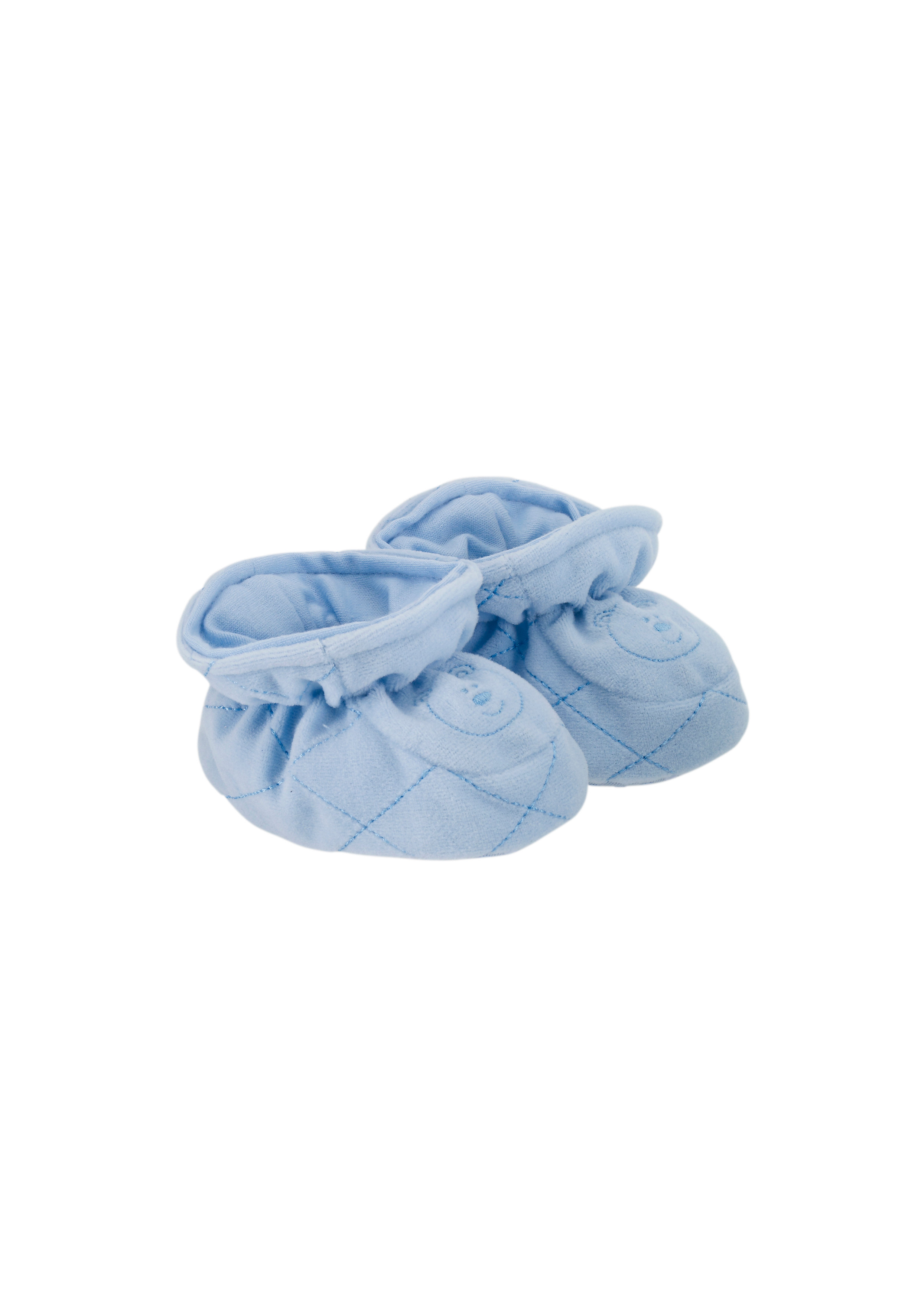Mothercare   Boys Velour Baggies - Blue
