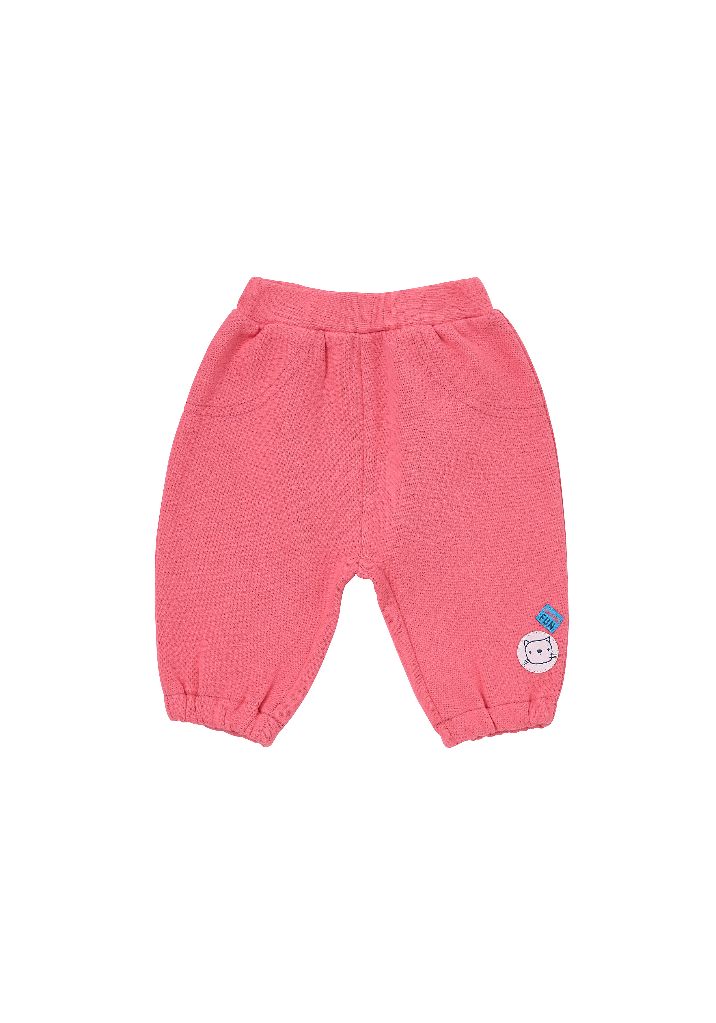 Mothercare | Girls Joggers 3D Details - Pink
