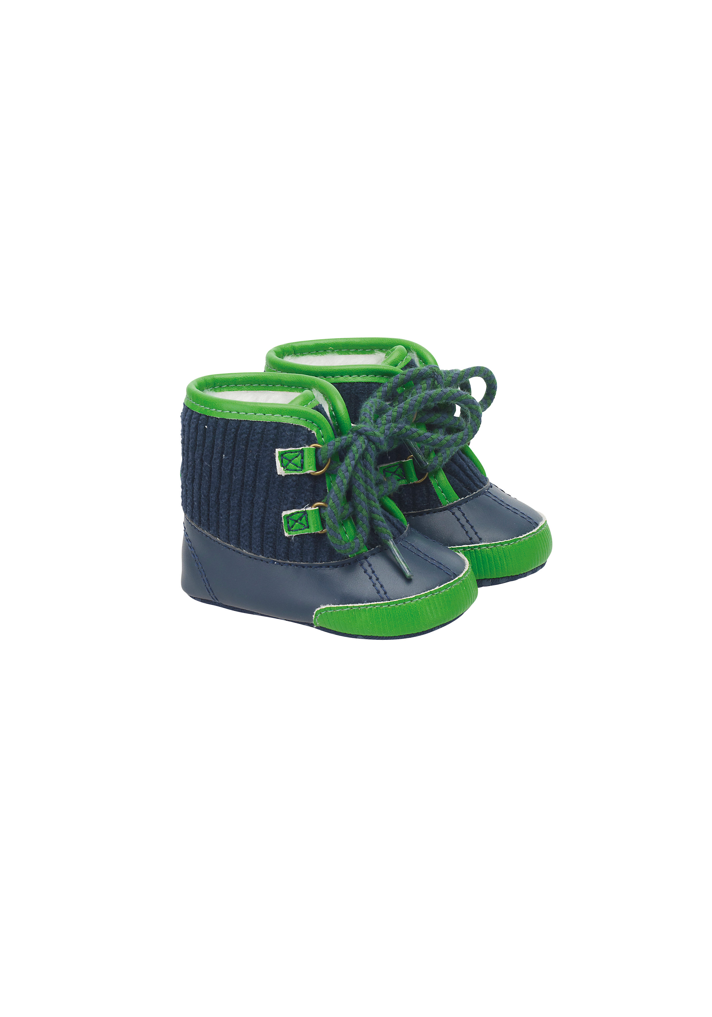 Mothercare | Boys Cord Lace Boots - Multicolor