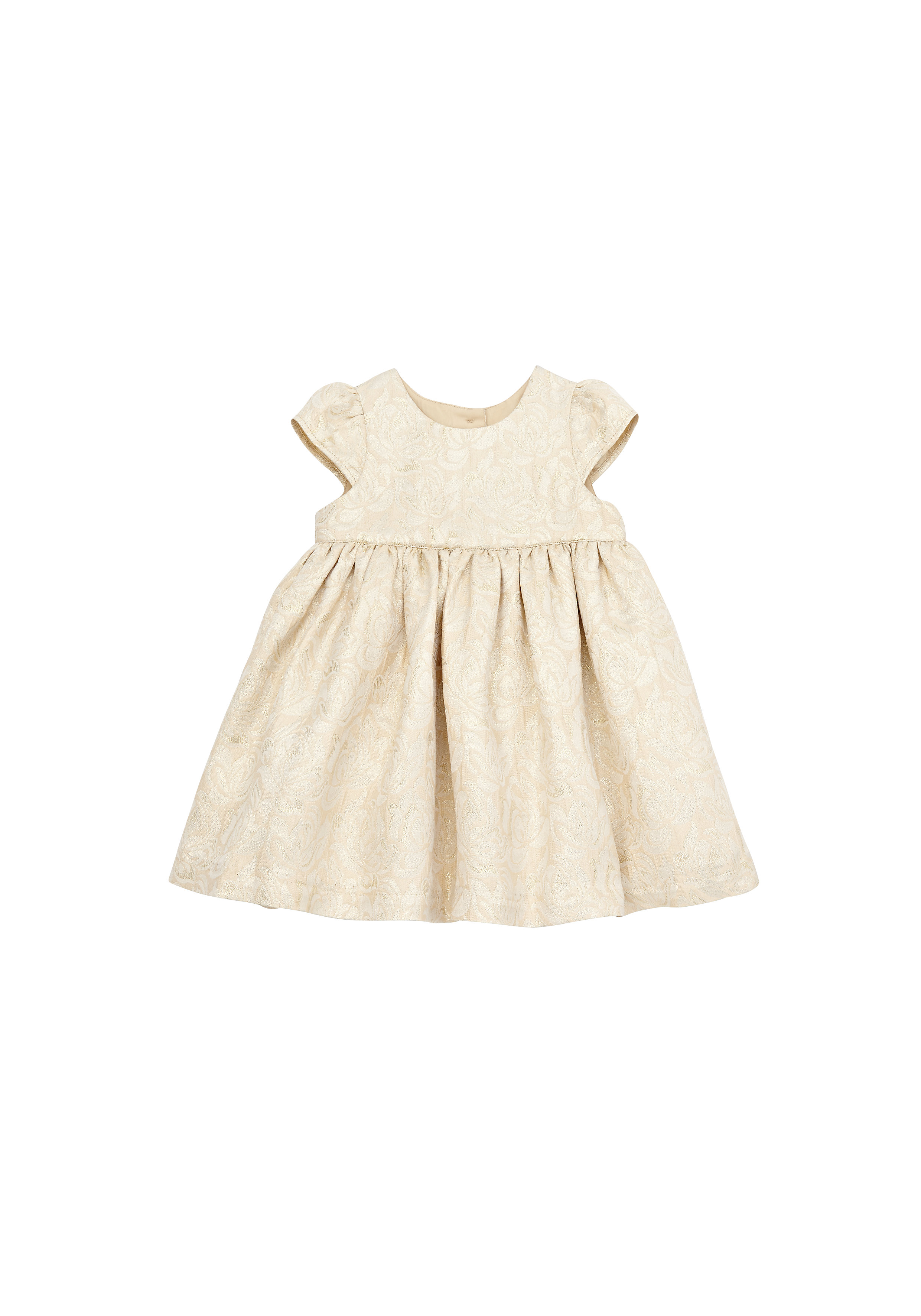 Mothercare | Girls Half Sleeves Party Dress - Yellow