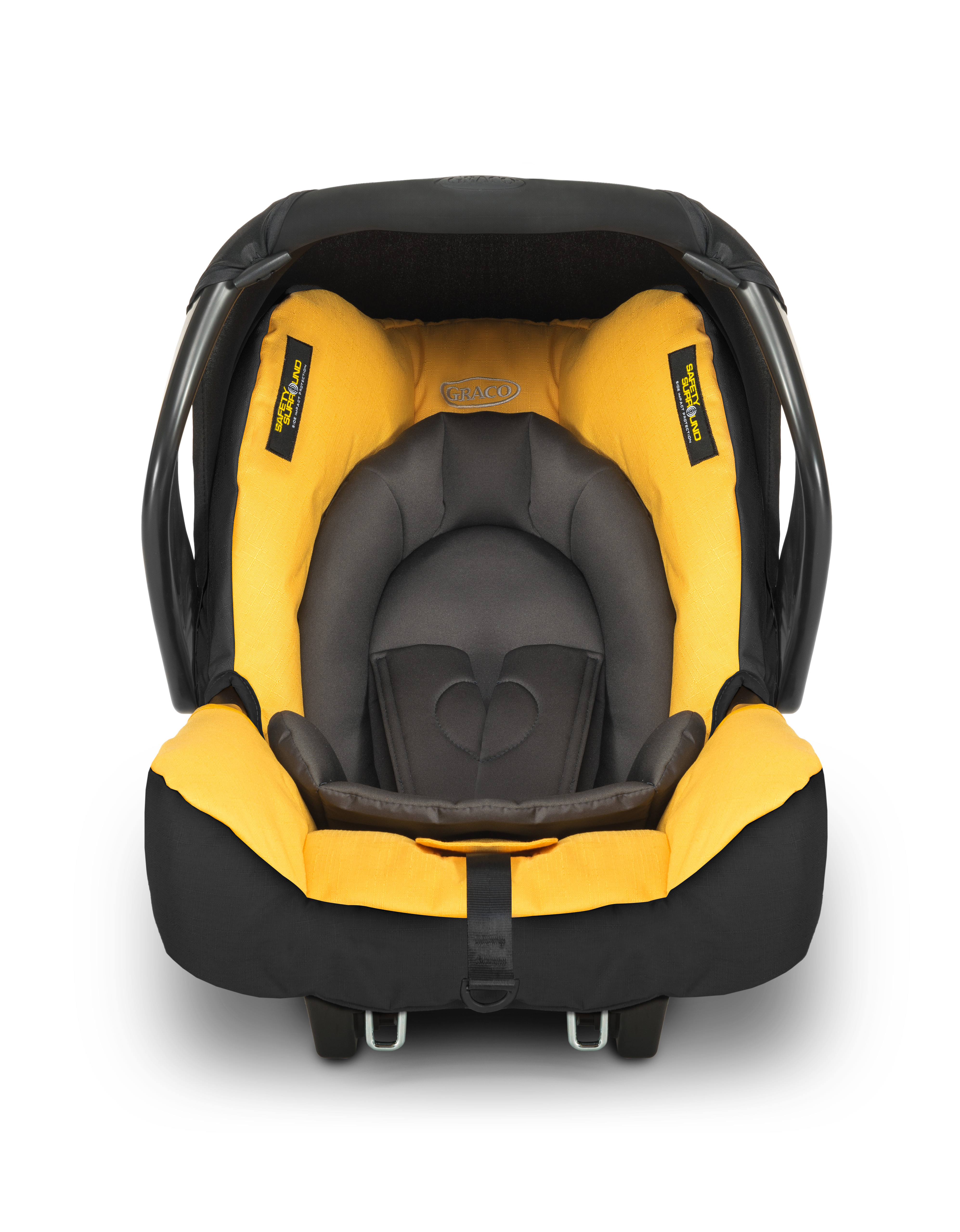 Mothercare | Graco Evo Yellow Snugsafe Baby Car Seat Mineral Yellow