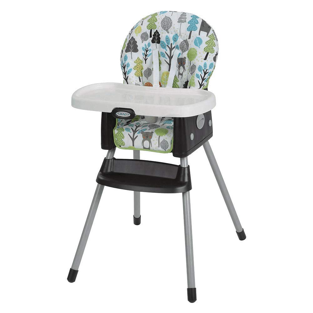 Mothercare | Graco Simple Switch Grey Bear Trail High Chair