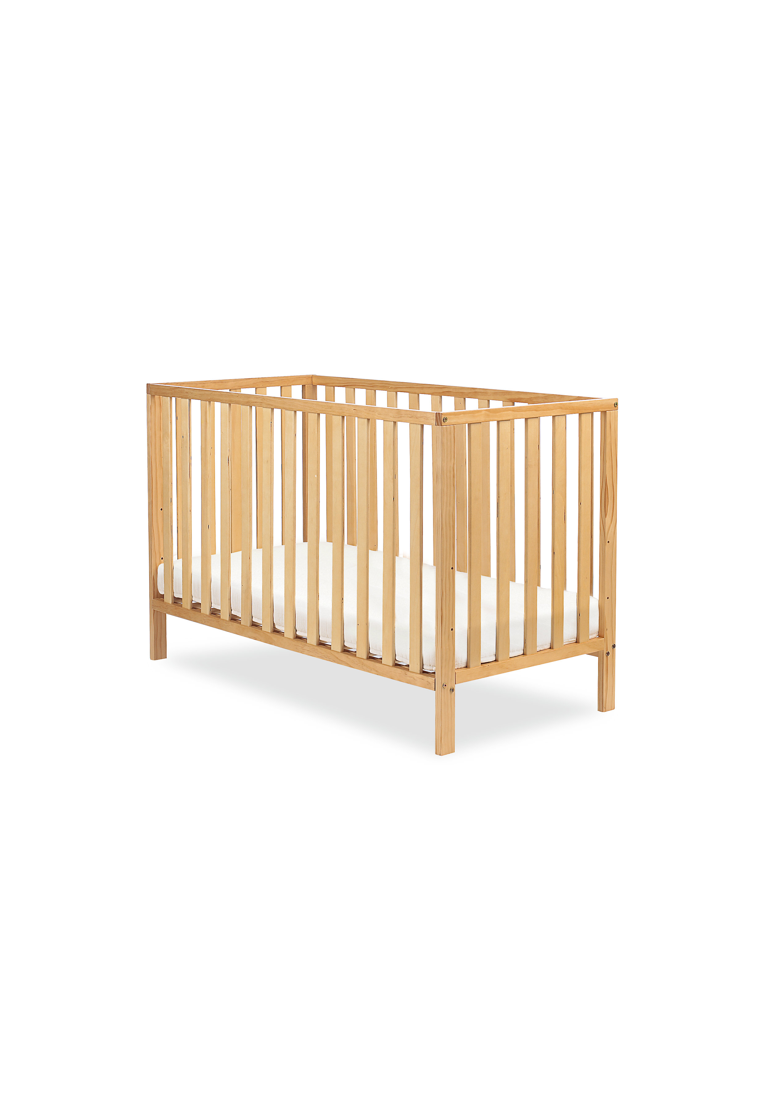 Mothercare | Mothercare Ayr Baby Cot Antique Brown