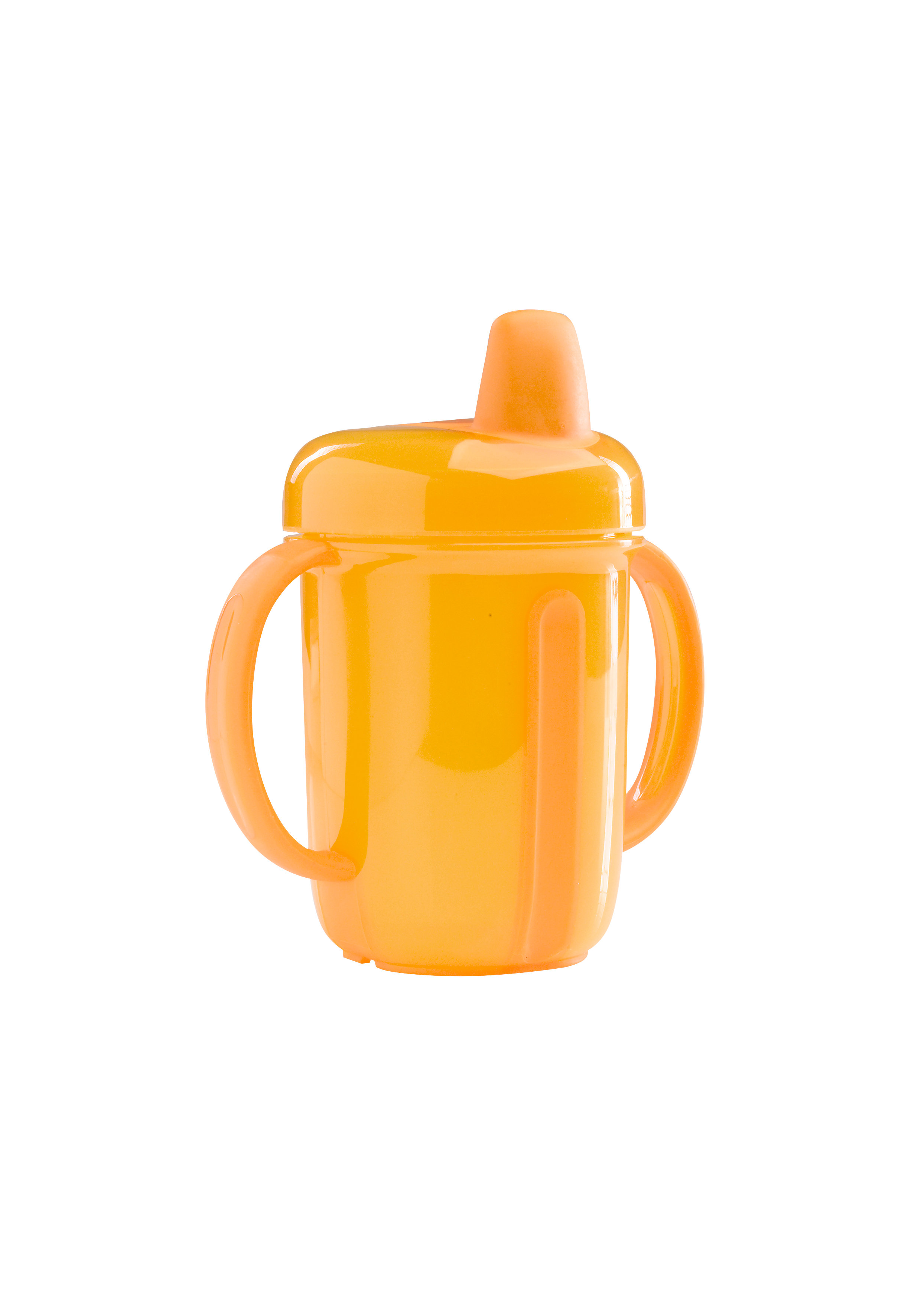 Mothercare   Mothercare Stage 2 Yellow Non Spill Cup Yellow