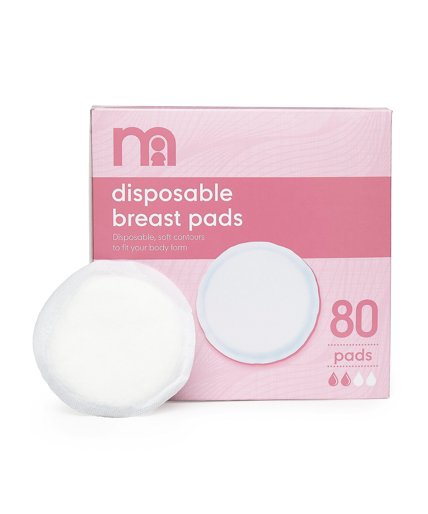 Mothercare | Disposable Breast Pads - Set of 80