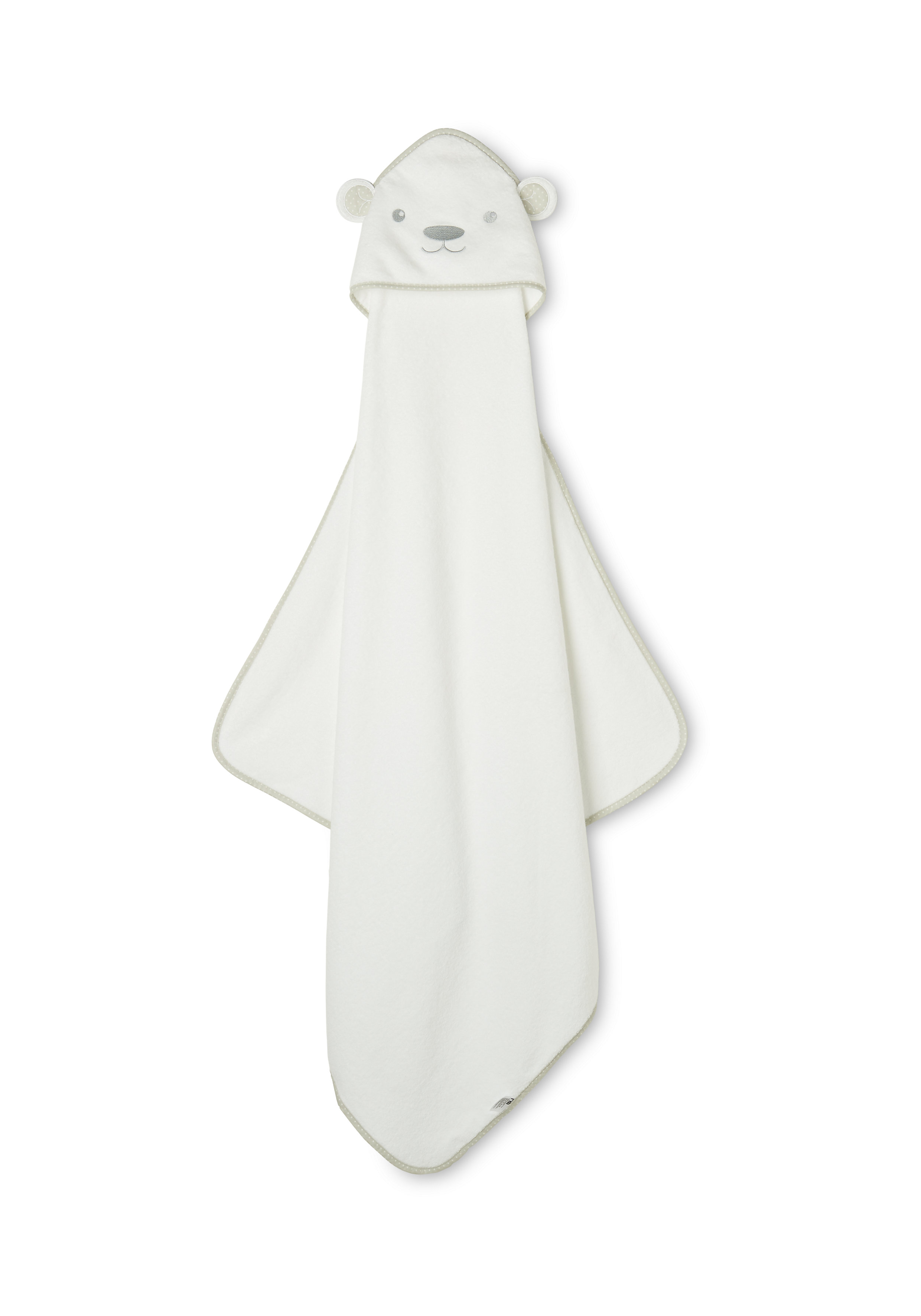 Mothercare | Mothercare Cuddle n Dry Towel Towel Premium White