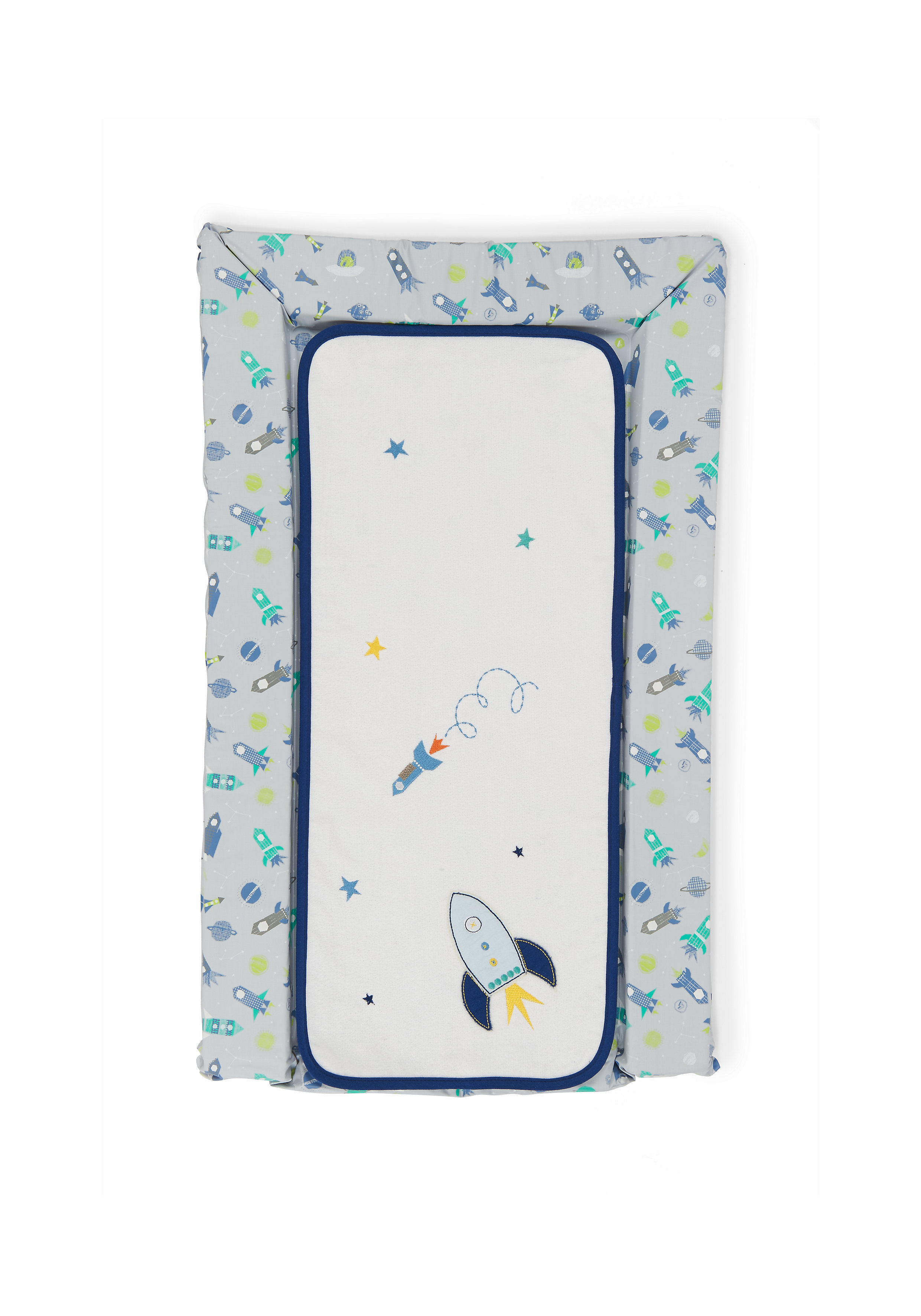 Mothercare | Mothercare Space Dreamer Changing Mat And Liner Blue