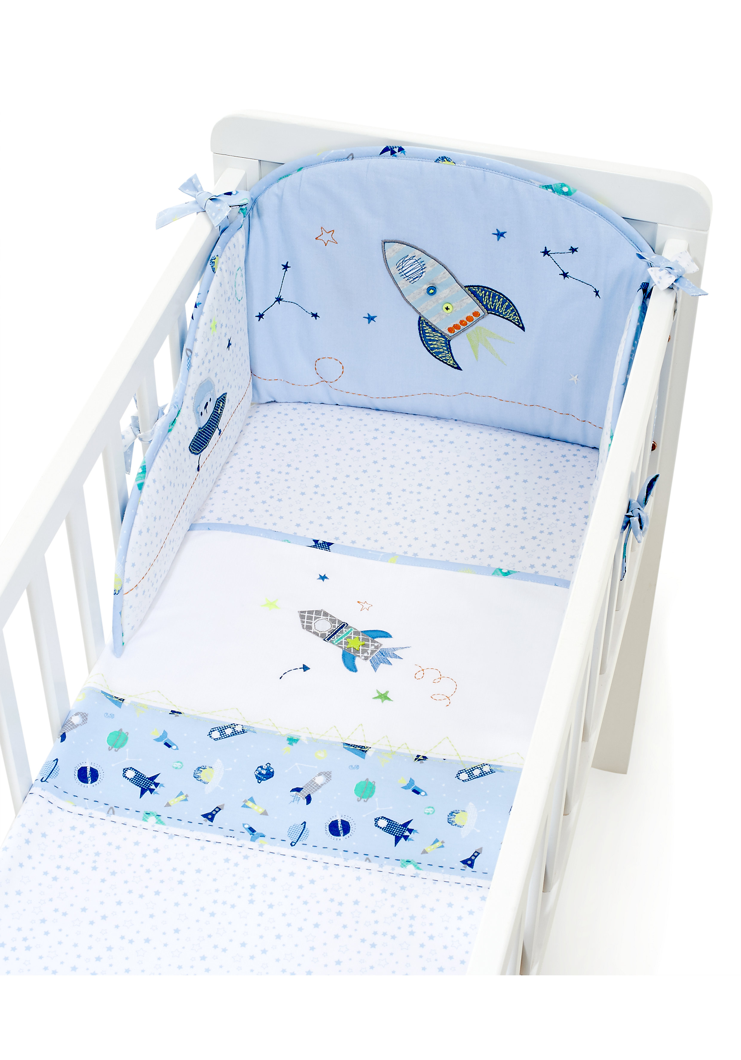 Mothercare | Mothercare Space Dreamer Crib Bale Blue