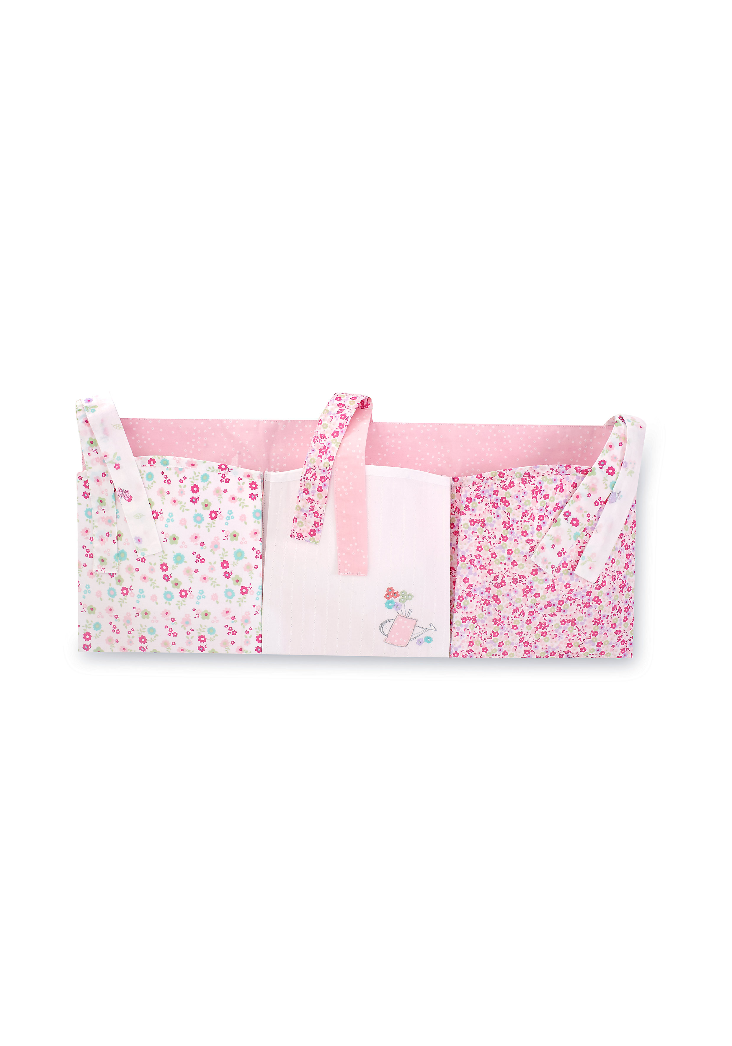 Mothercare   Mothercare My Little Garden Cot Pockets Pink
