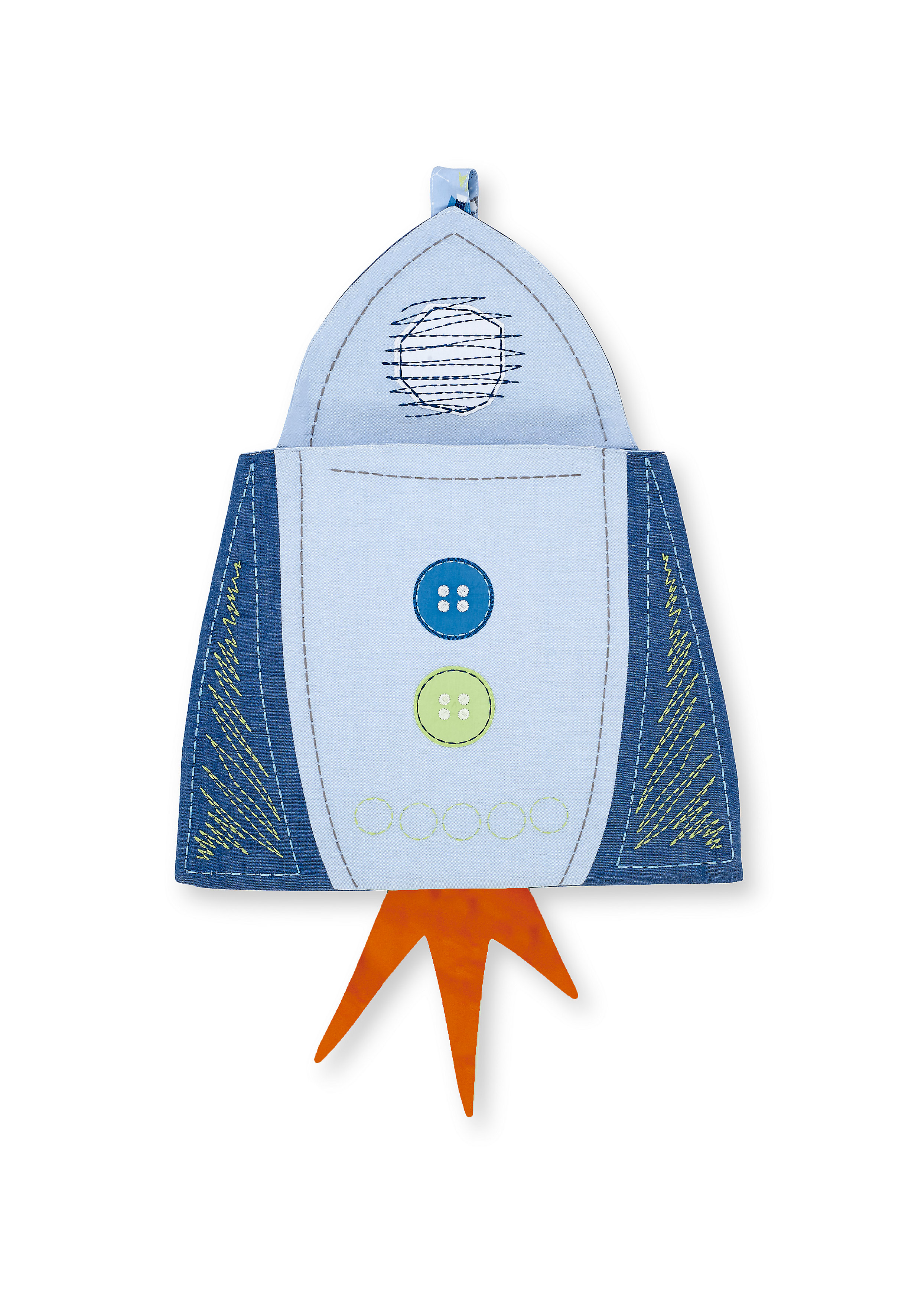 Mothercare   Mothercare Space Dreamer Cot Pocket Blue