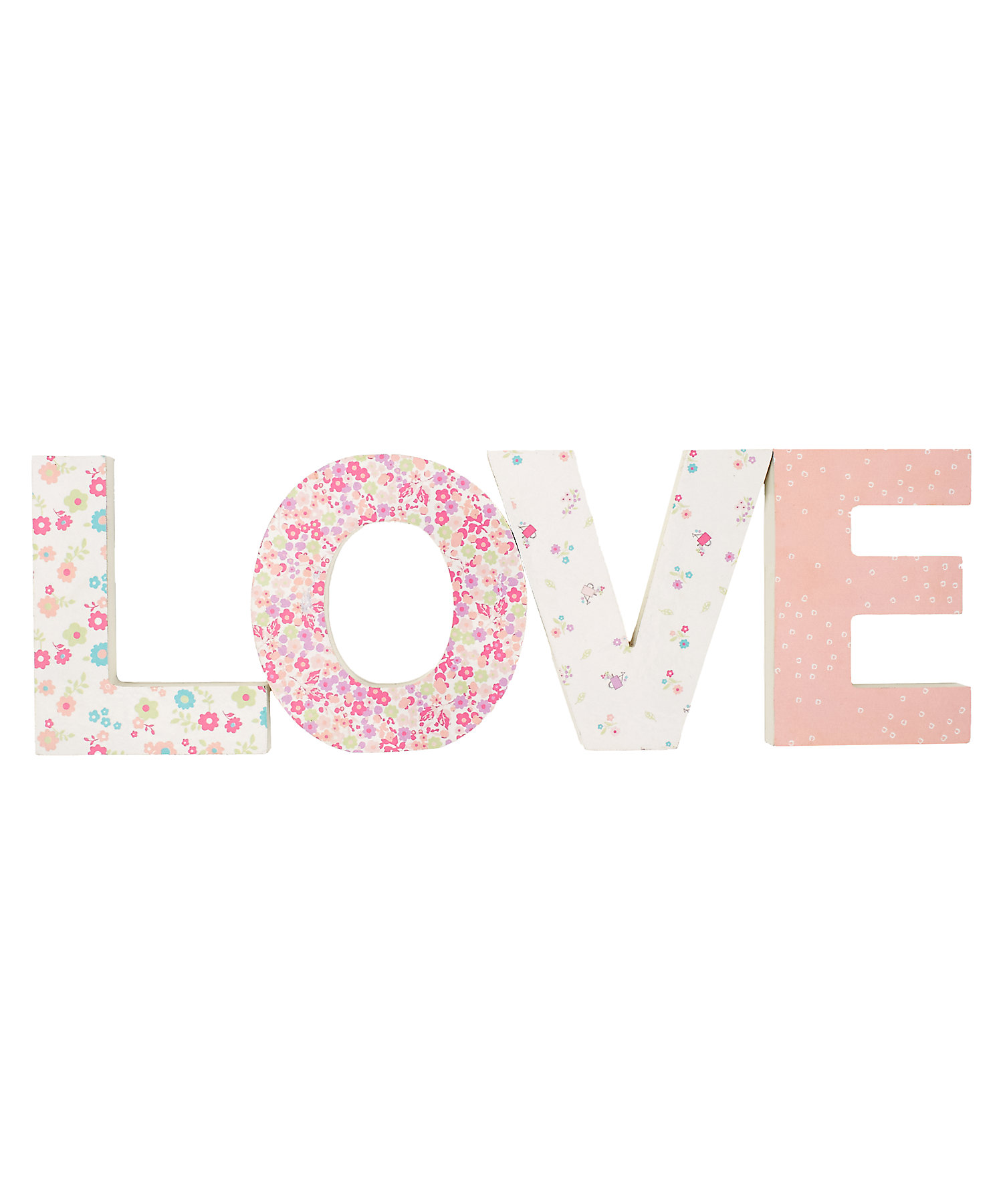Mothercare | Mothercare My Little Garden Love Letters Pink
