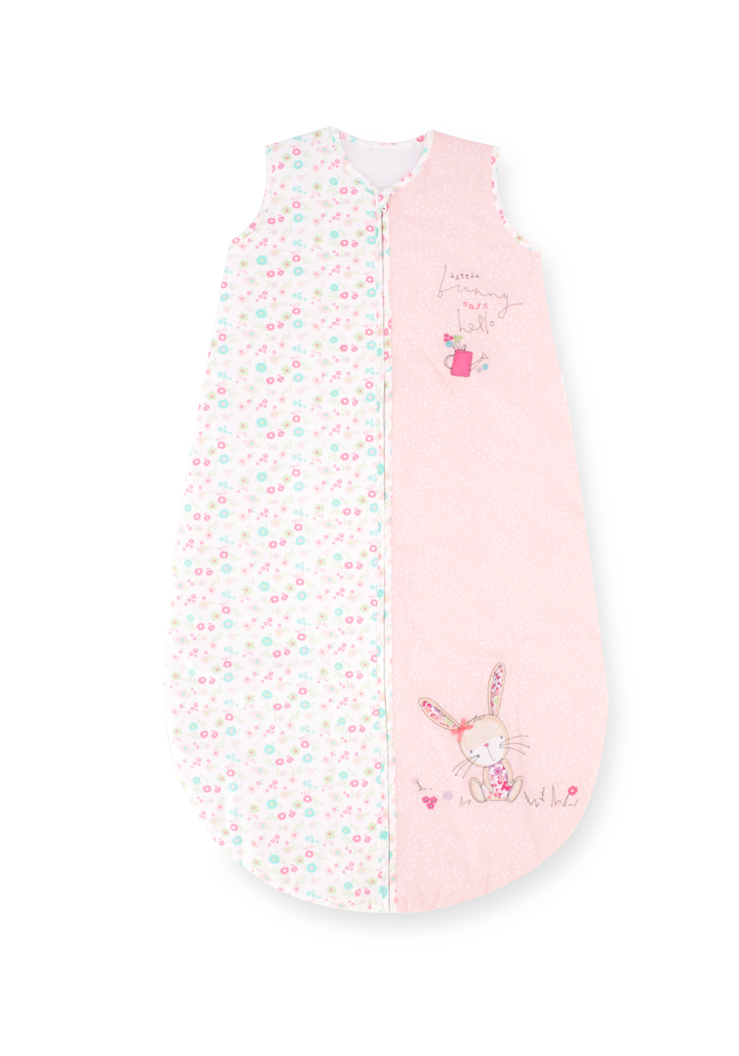 Mothercare   Mothercare My Little Garden Snoozie Sleep Bag 1 Tog Pink