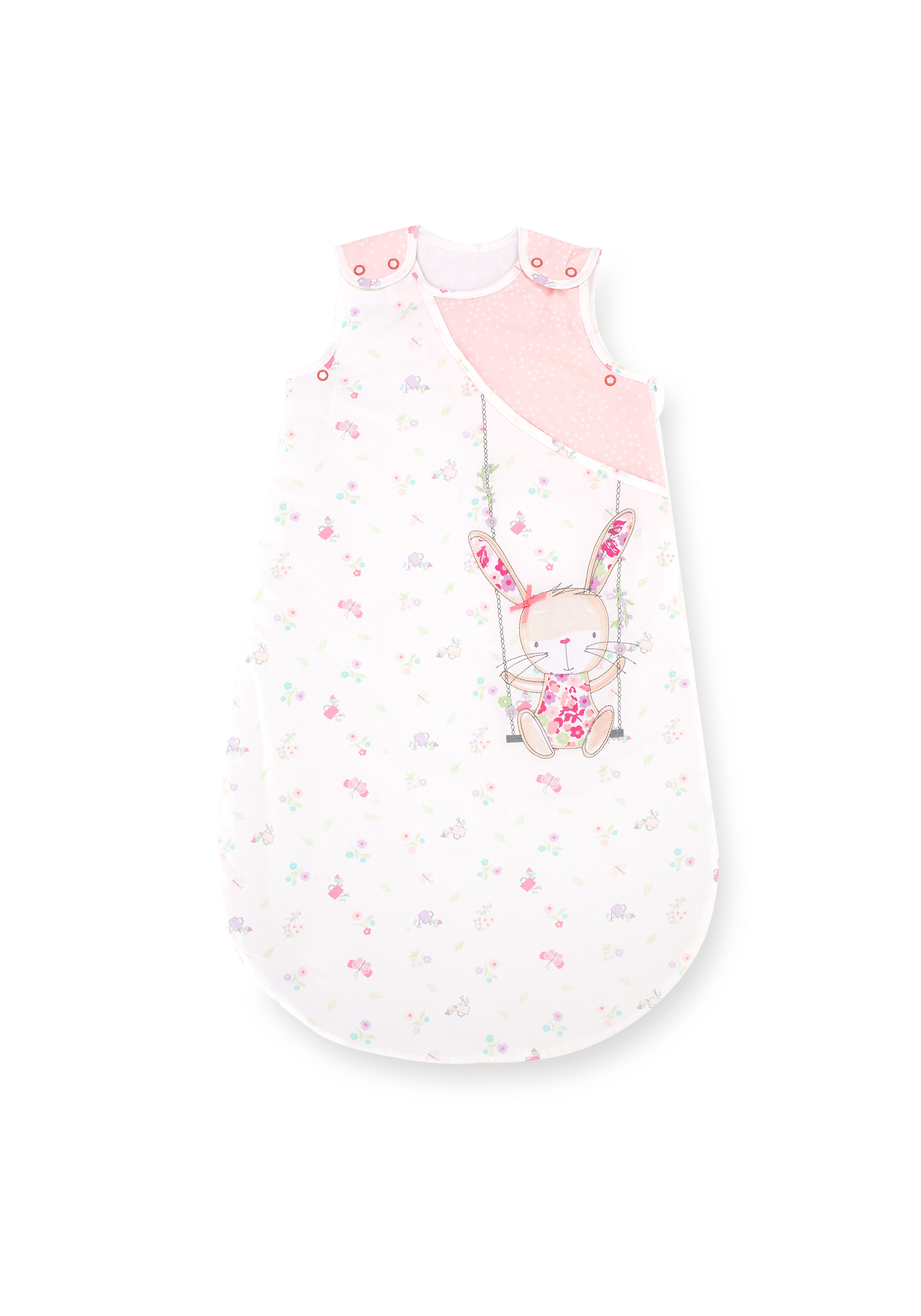 Mothercare   Mothercare Snoozie My Little Garden Sleep Bag 2.5 Tog Pink