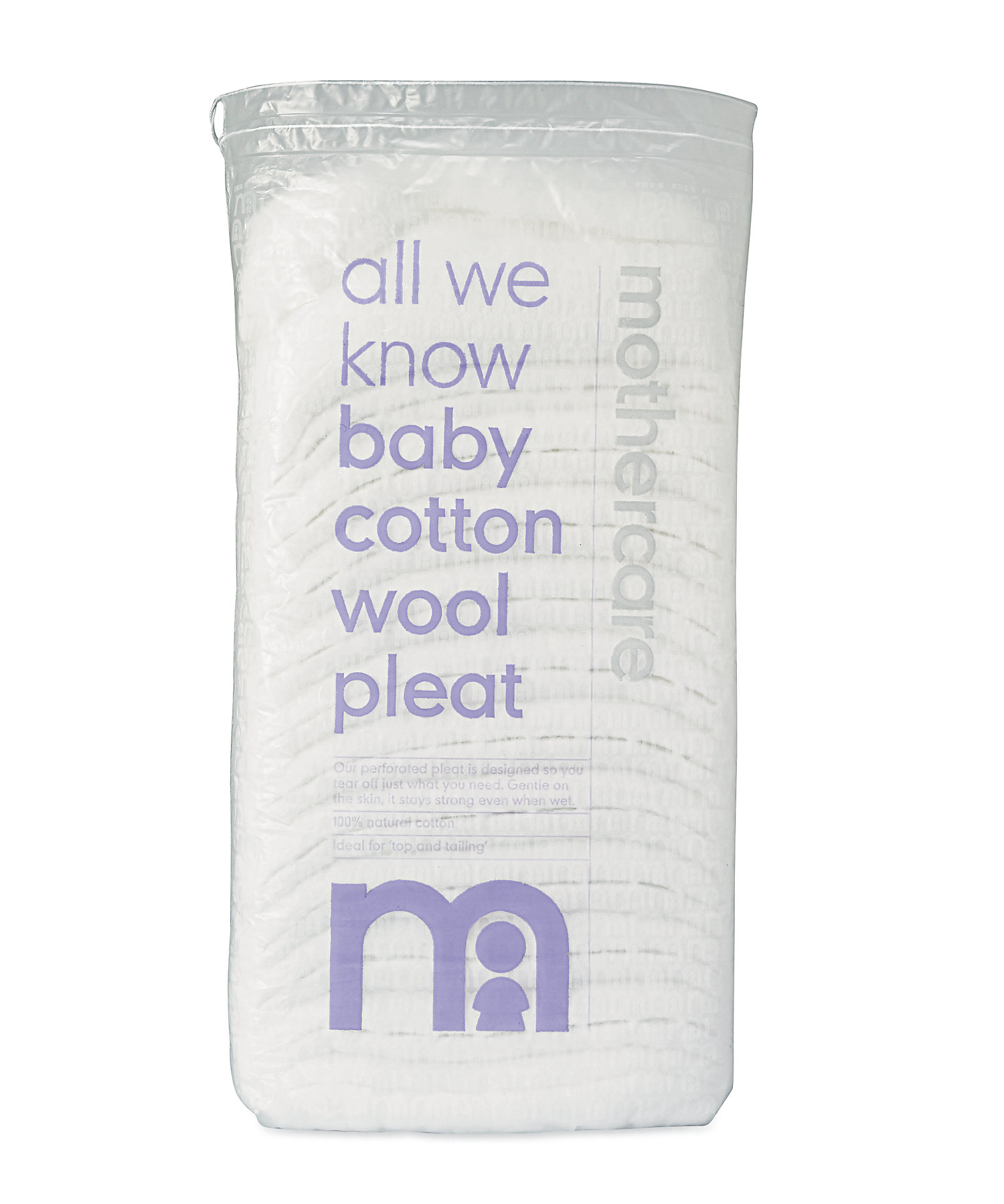 Mothercare | Mothercare Cotton Wool Pleat Assorted White
