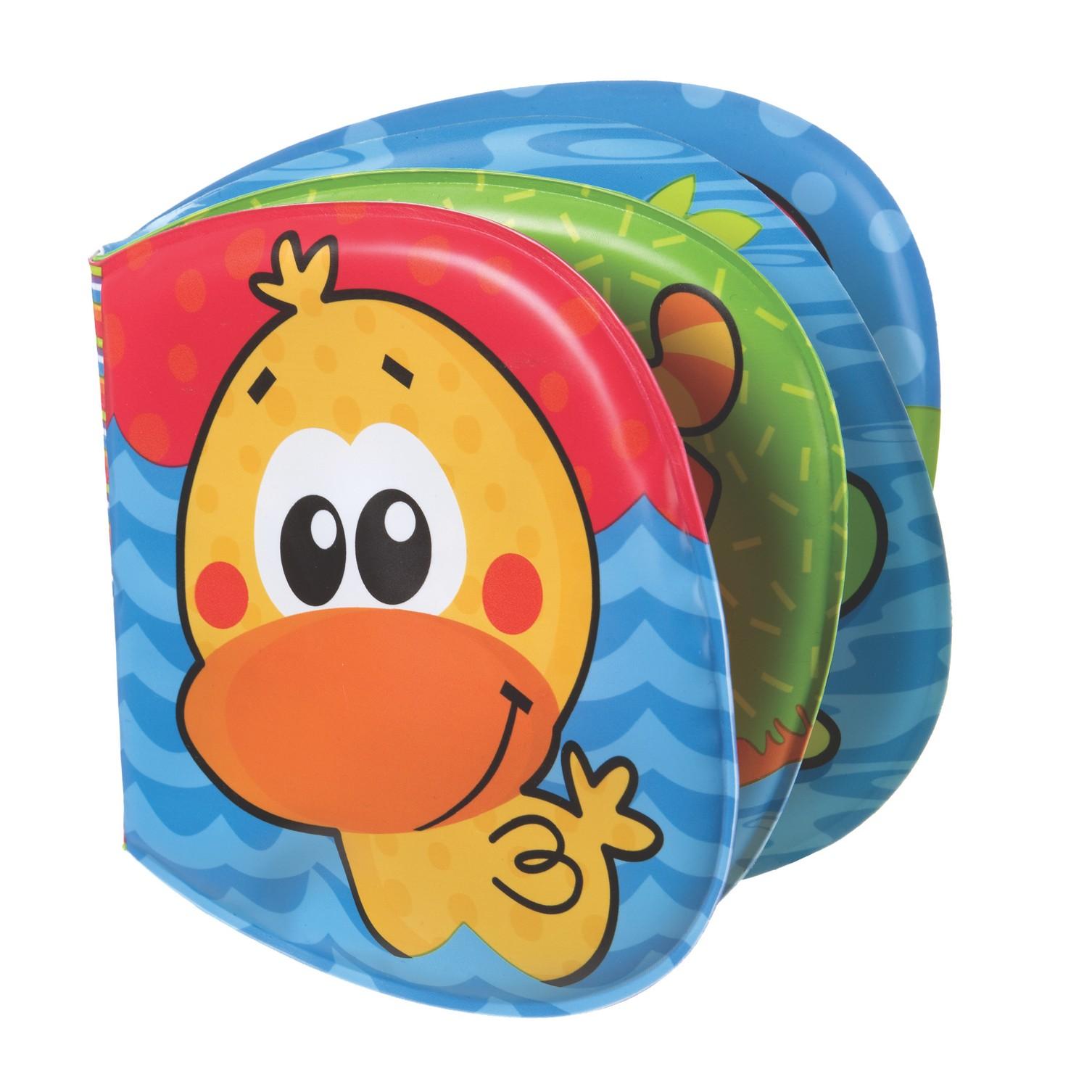 Playgro   Playgro Girls Garden Bath Book Multicolor