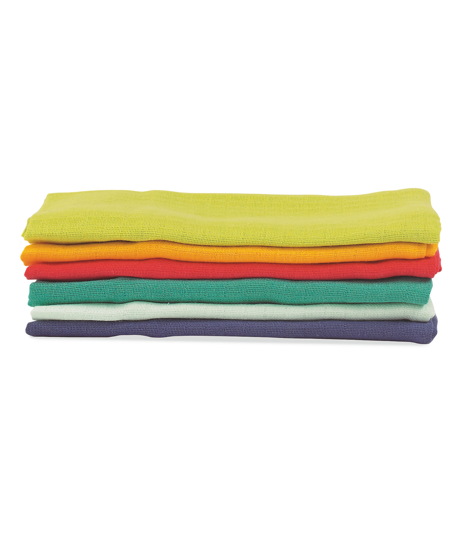 Mothercare | Mothercare Muslin Cloths Pack of 6 Multi