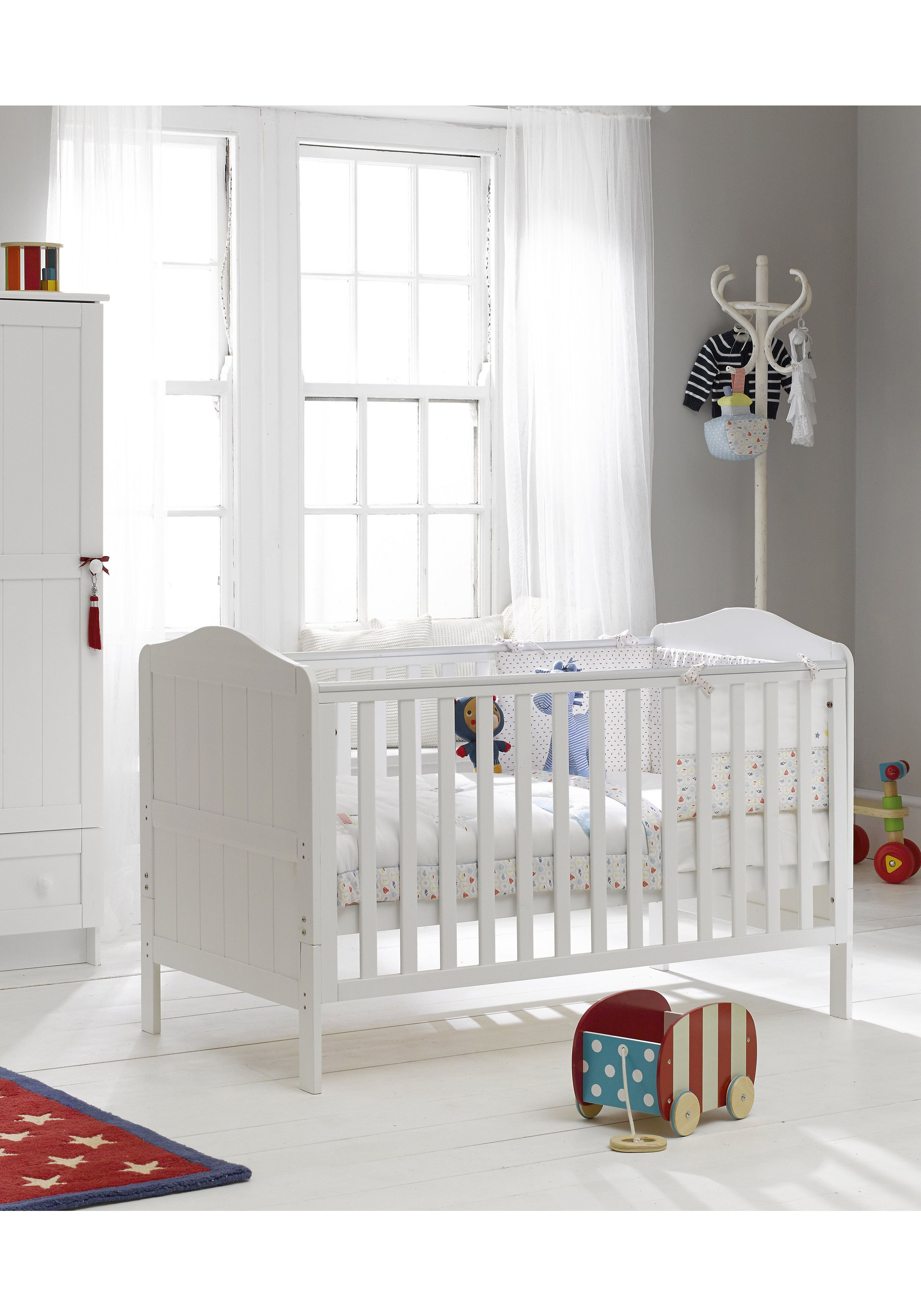 Mothercare | Mothercare Darlington Baby Cot Bed White