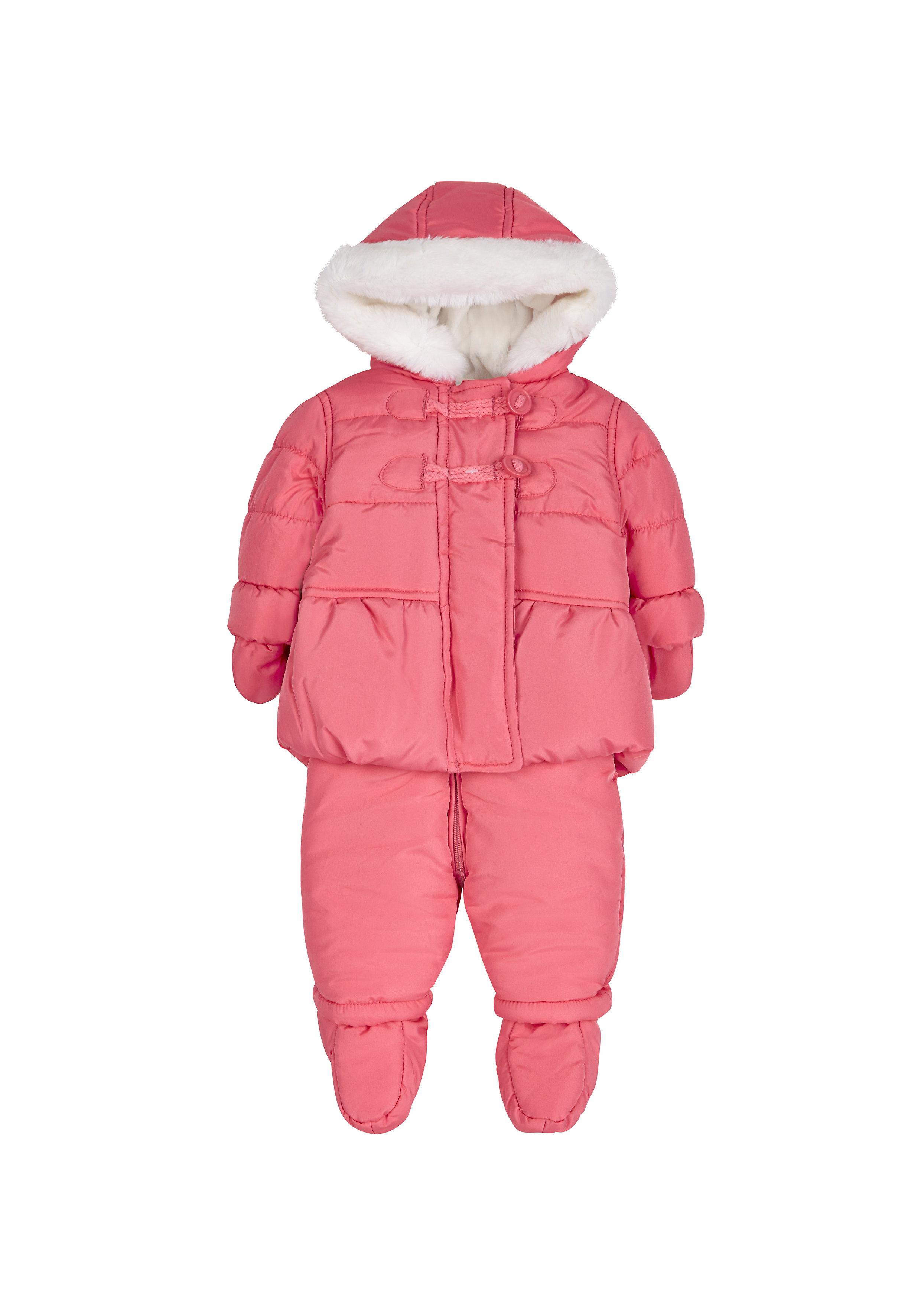 Mothercare | Girls Jacket And Legging Set  - Pink