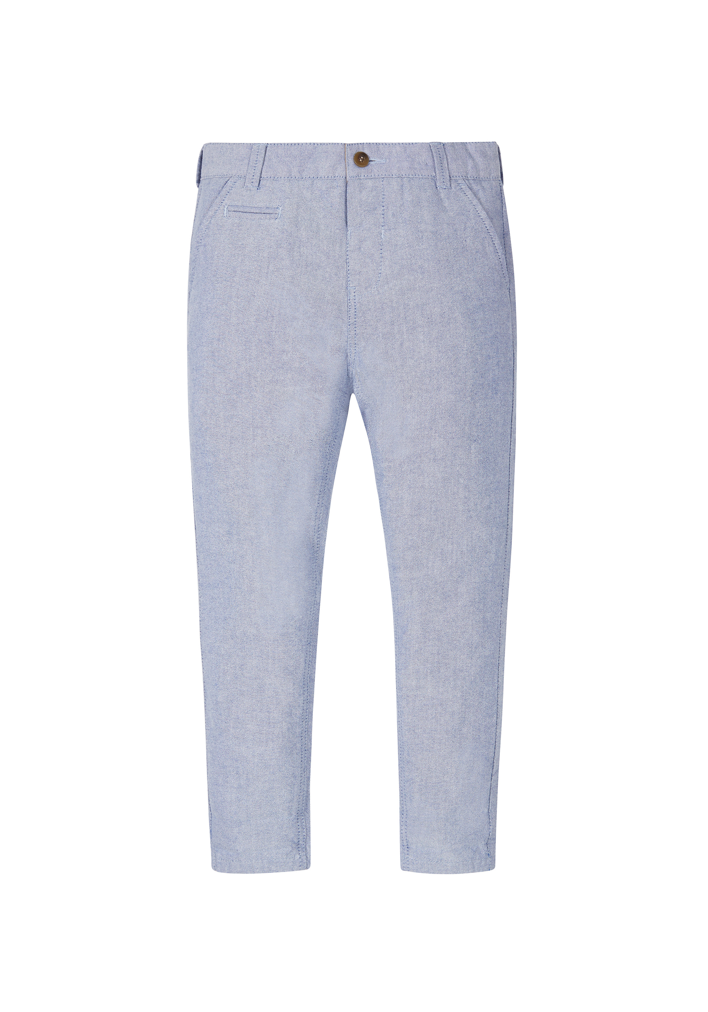 Mothercare   Boys Oxford Chino Trousers - Blue
