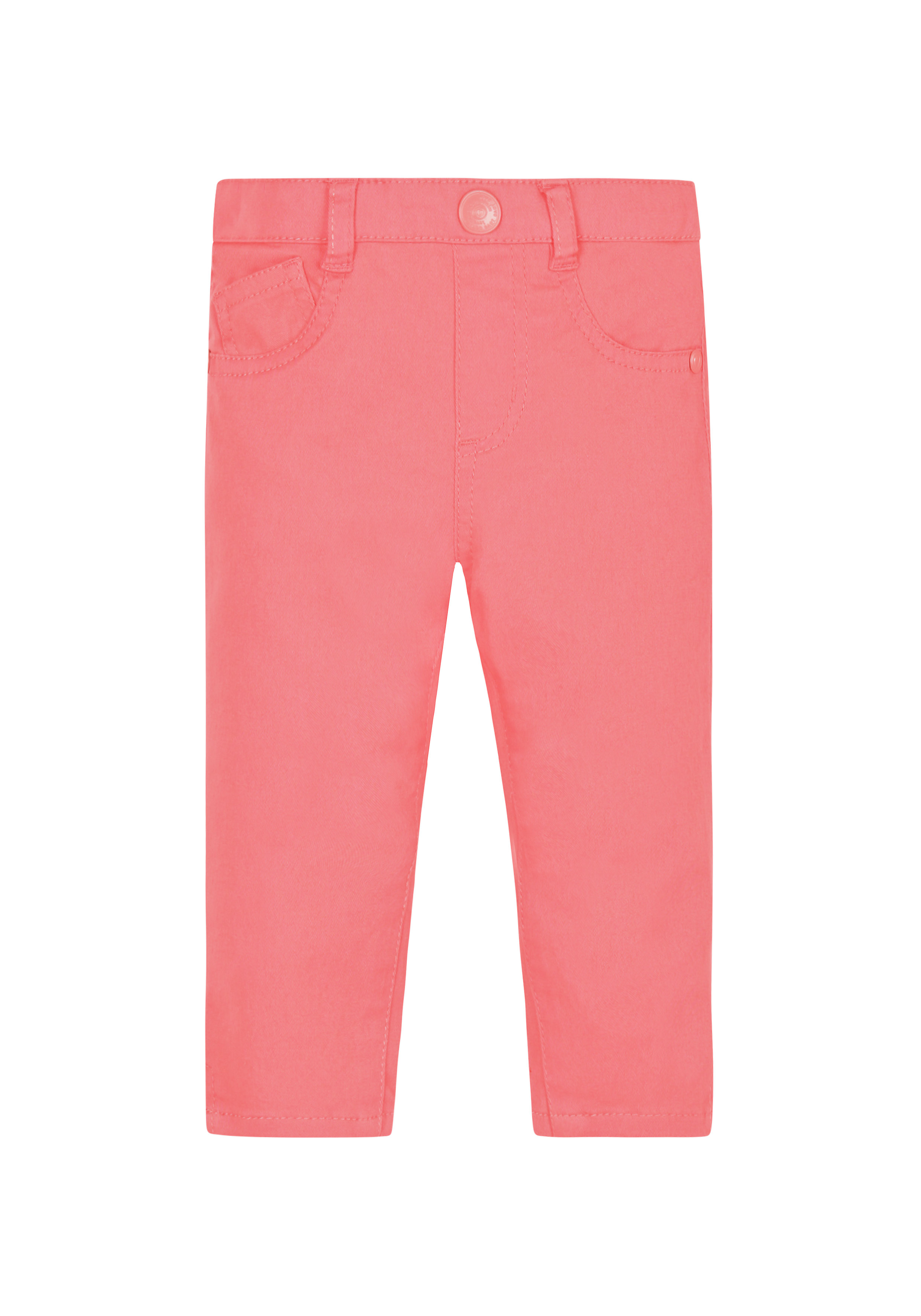 Mothercare | Girls Coral Jeans - Coral