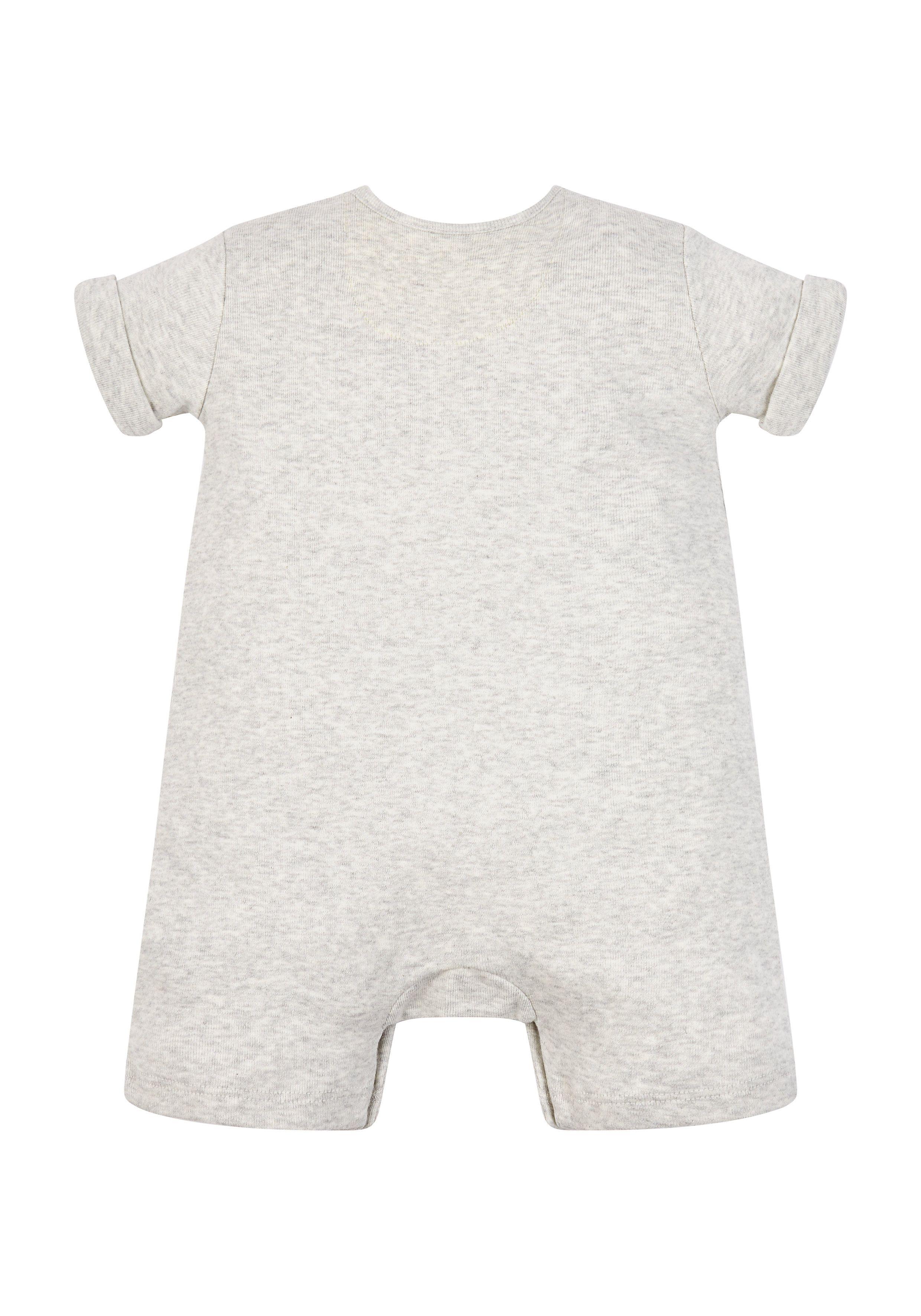 Mothercare | Unisex Grey Happy Romper - Grey
