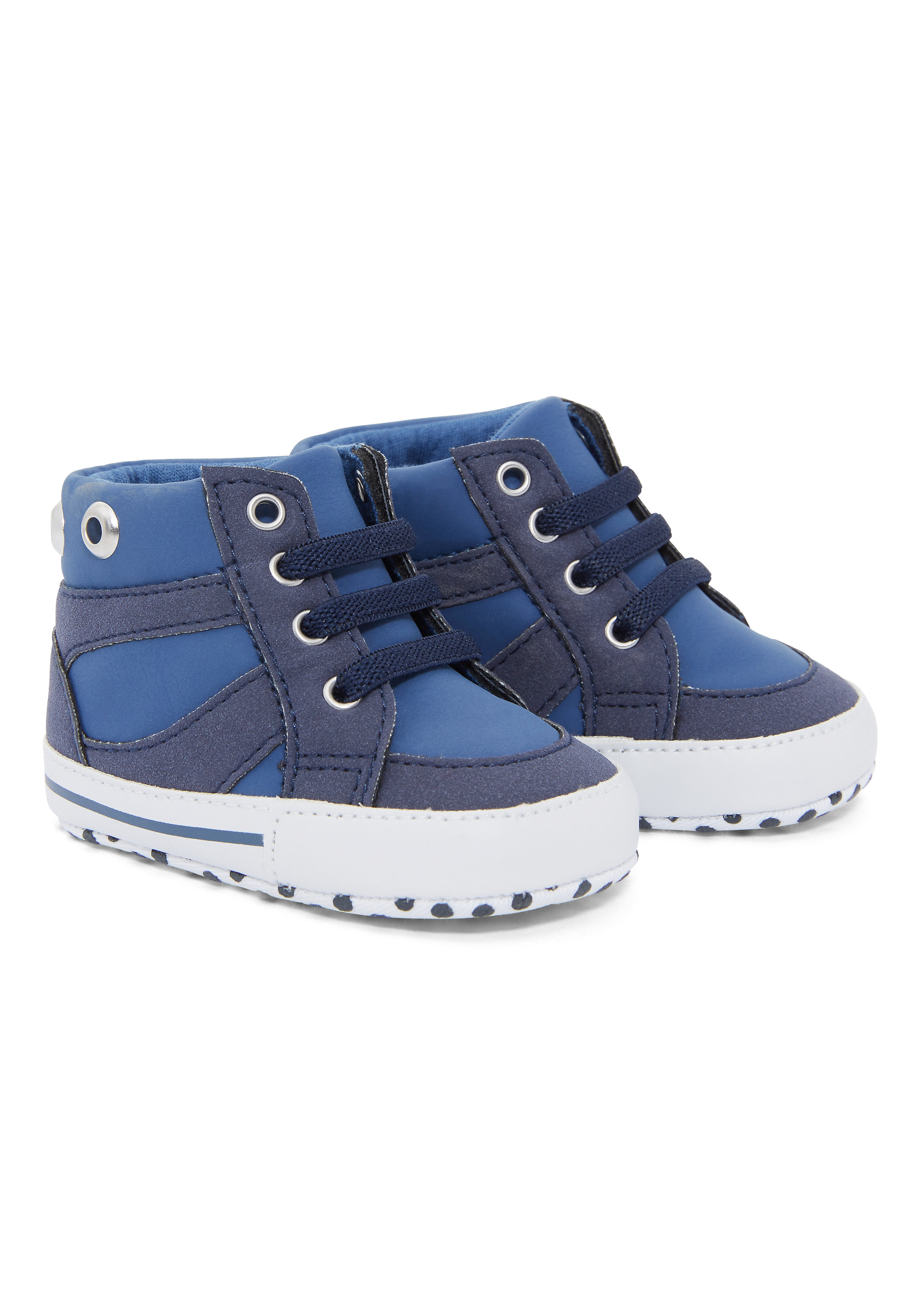 Mothercare | Boys Pram Shoes - Blue