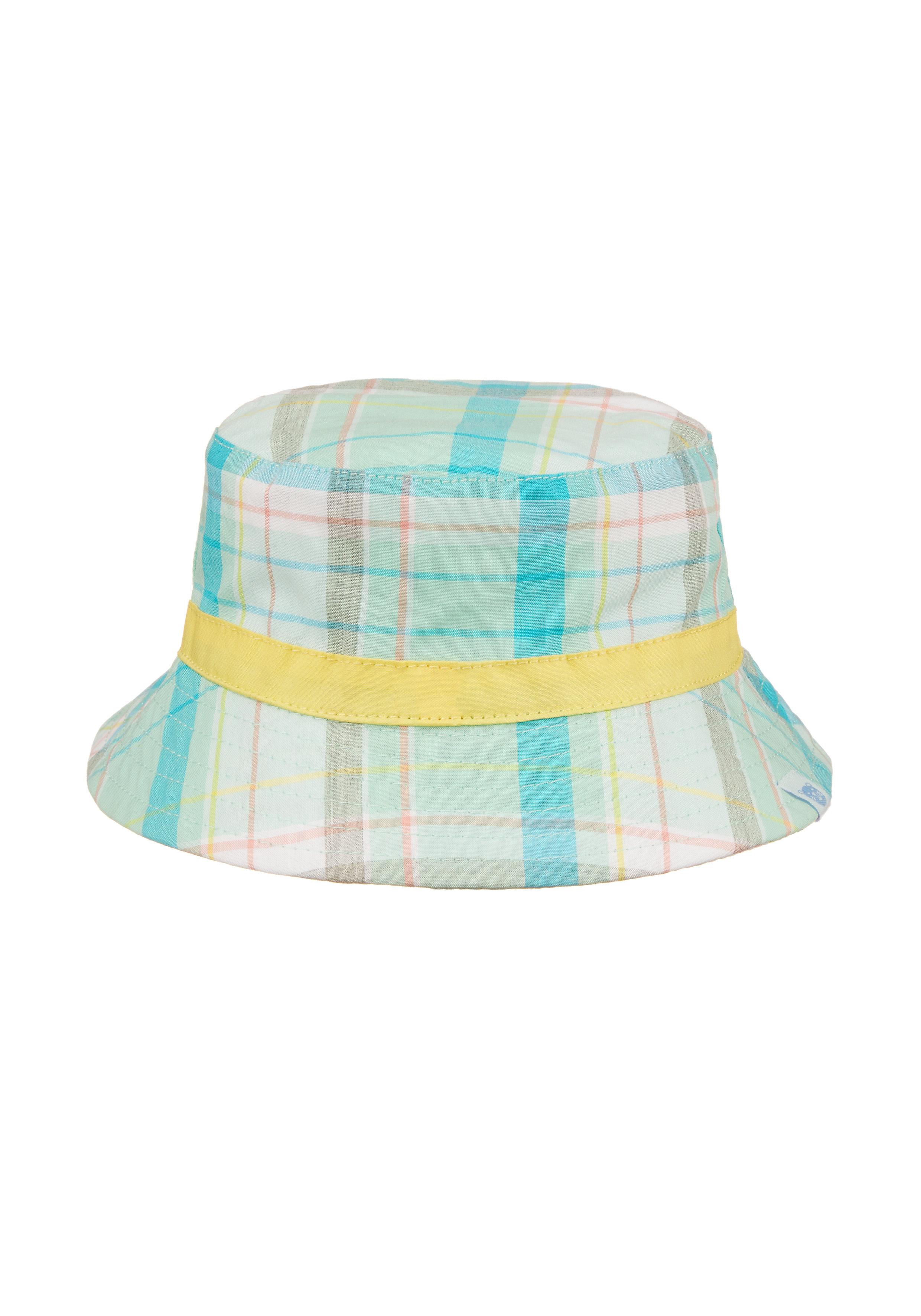 Mothercare | Boys Green Check Sun Hat - Green