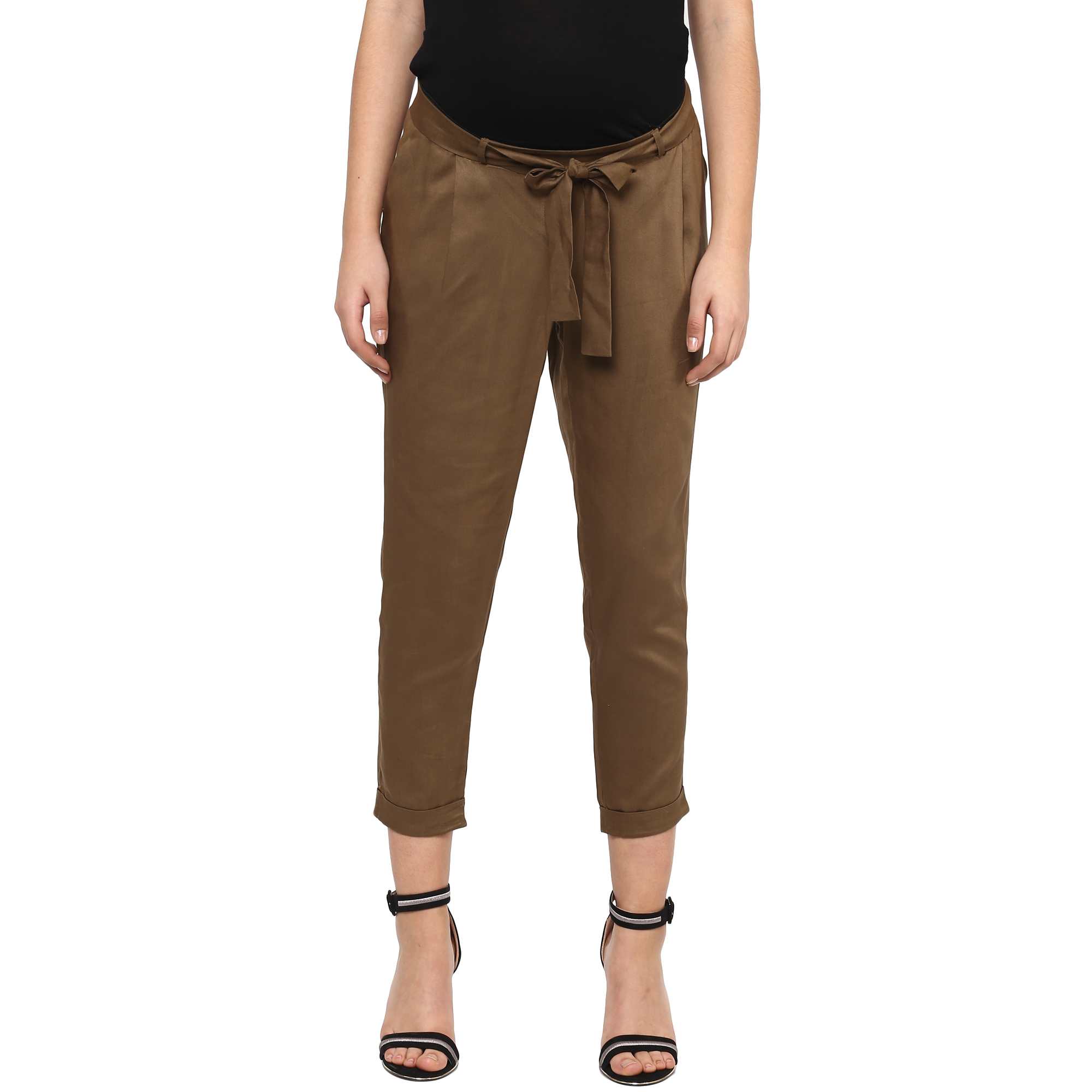 Mothercare   Women Maternity Chinos - Brown